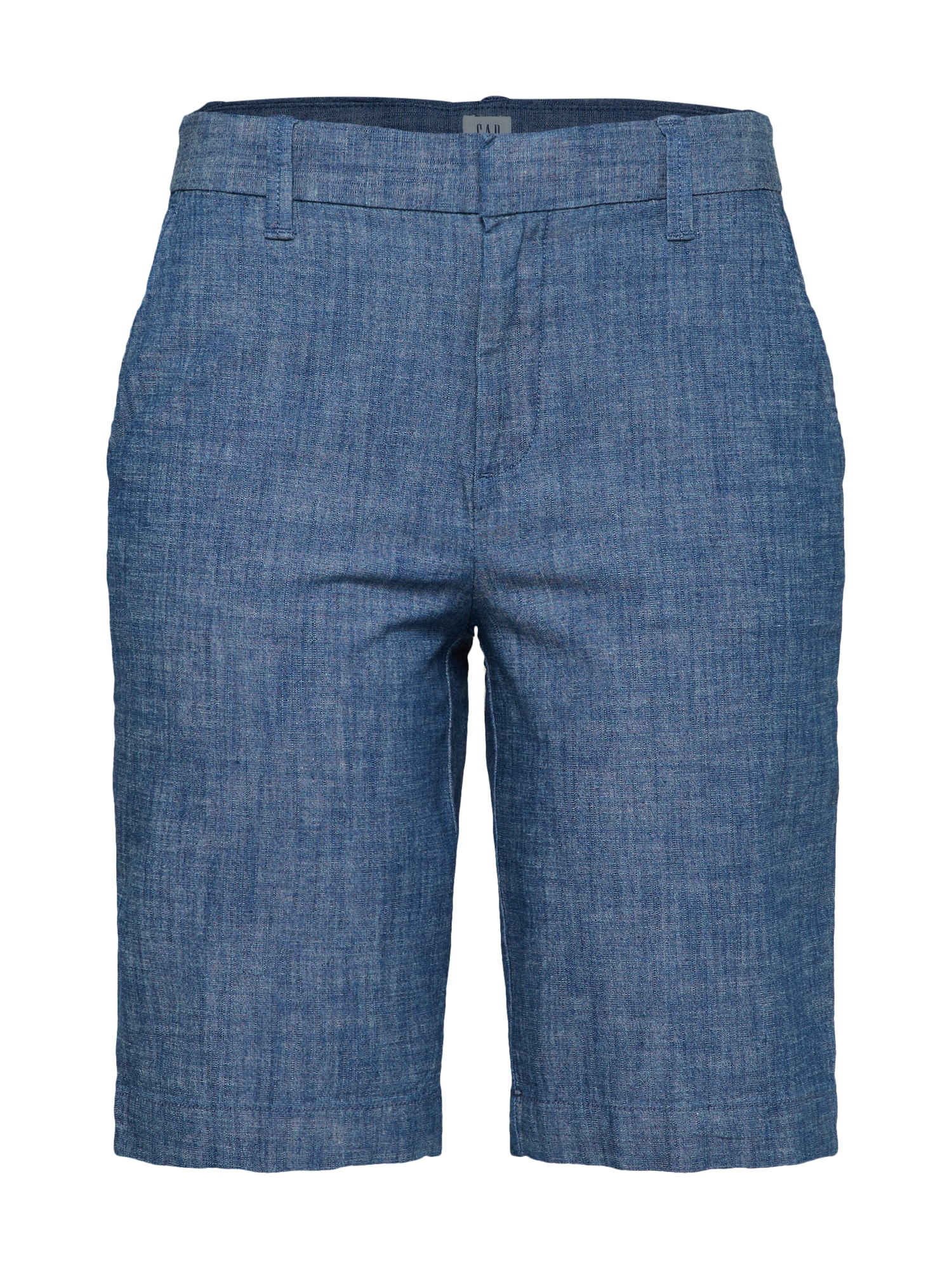 Kalhoty SH 10 INCH BERMUDA SHORT CHAMBRAY indigo GAP