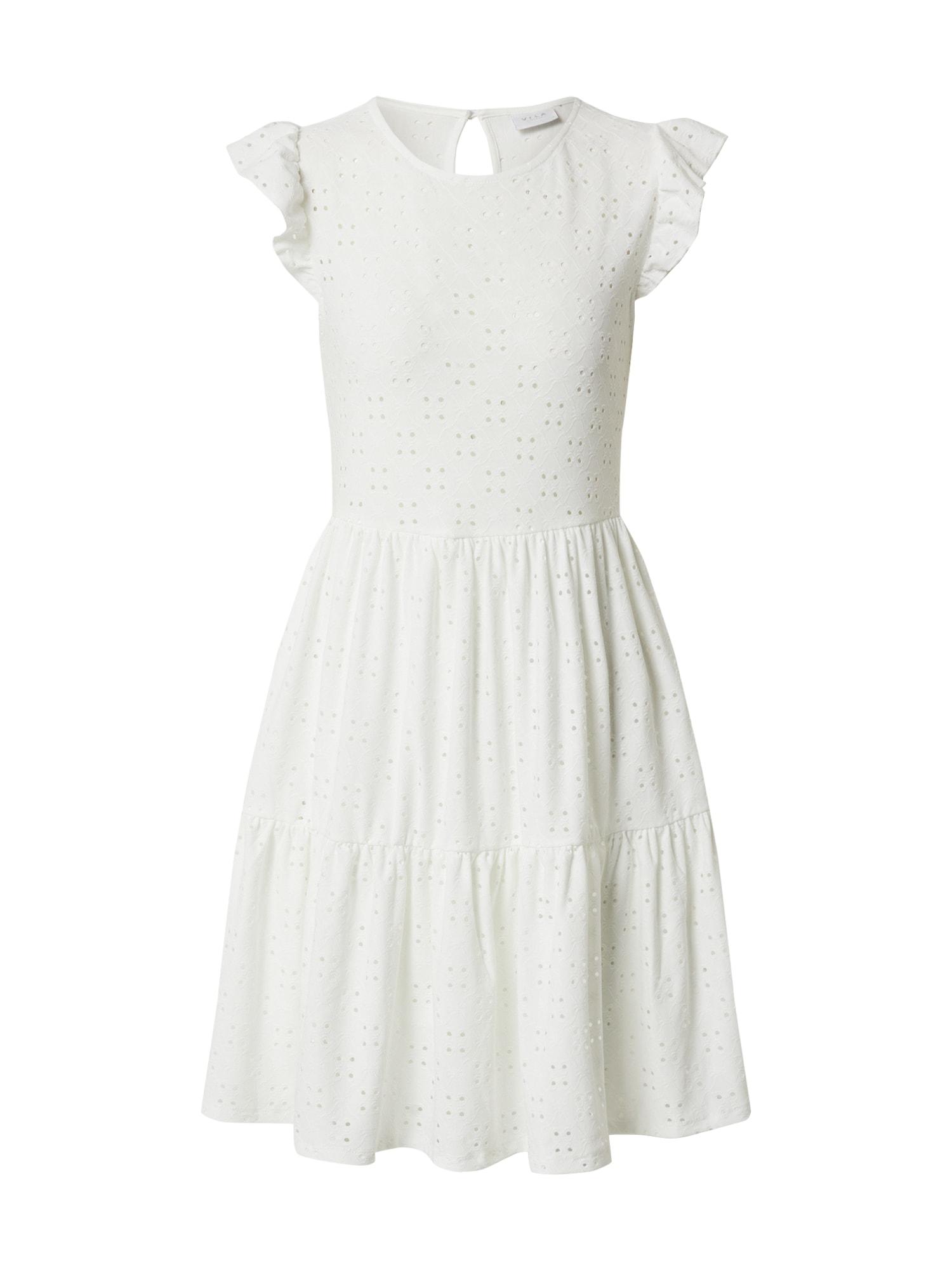VILA Letní šaty 'LOWE'  offwhite