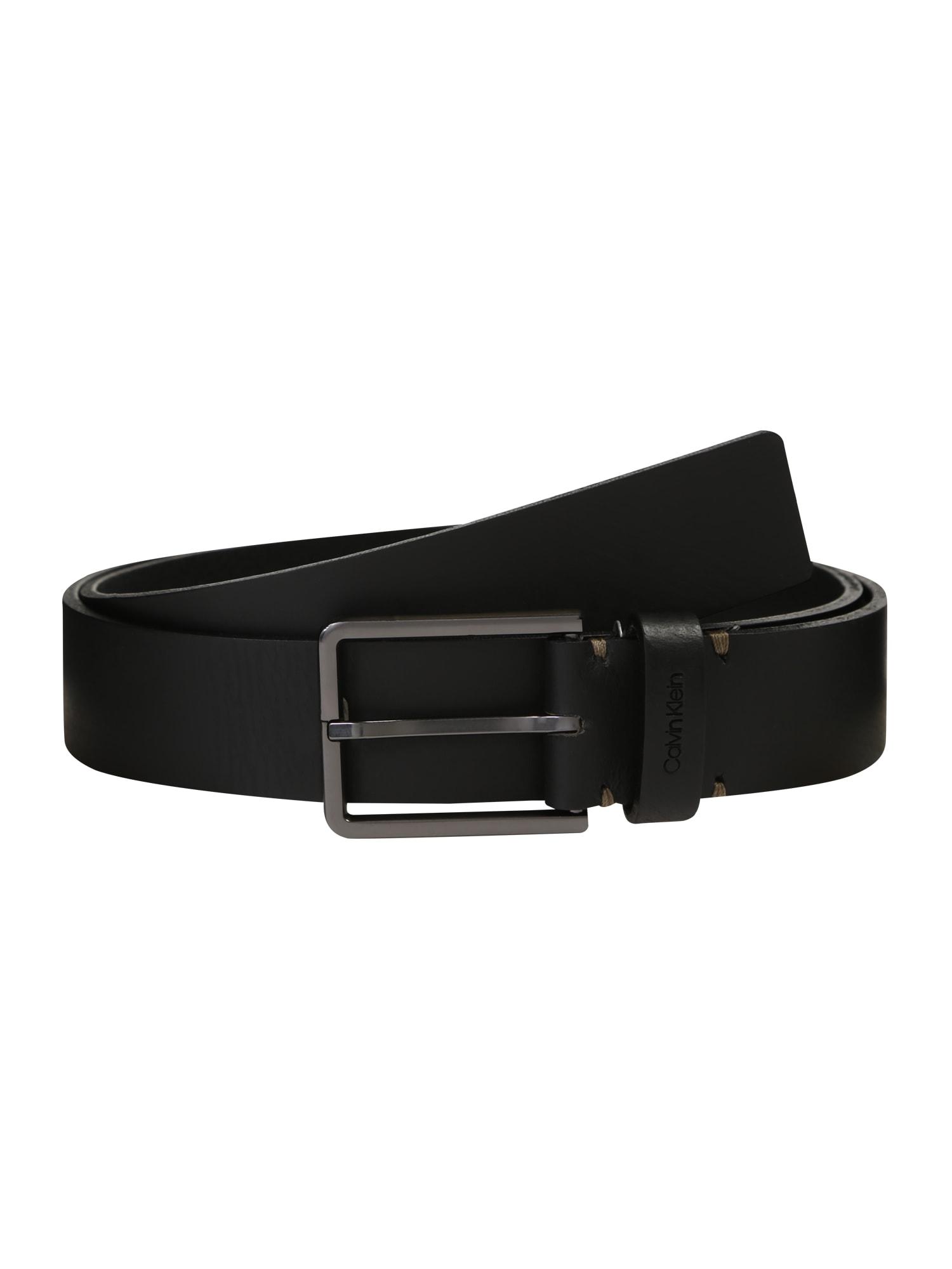 Calvin Klein Opasek '3.5CM ESSENTIAL'  černá