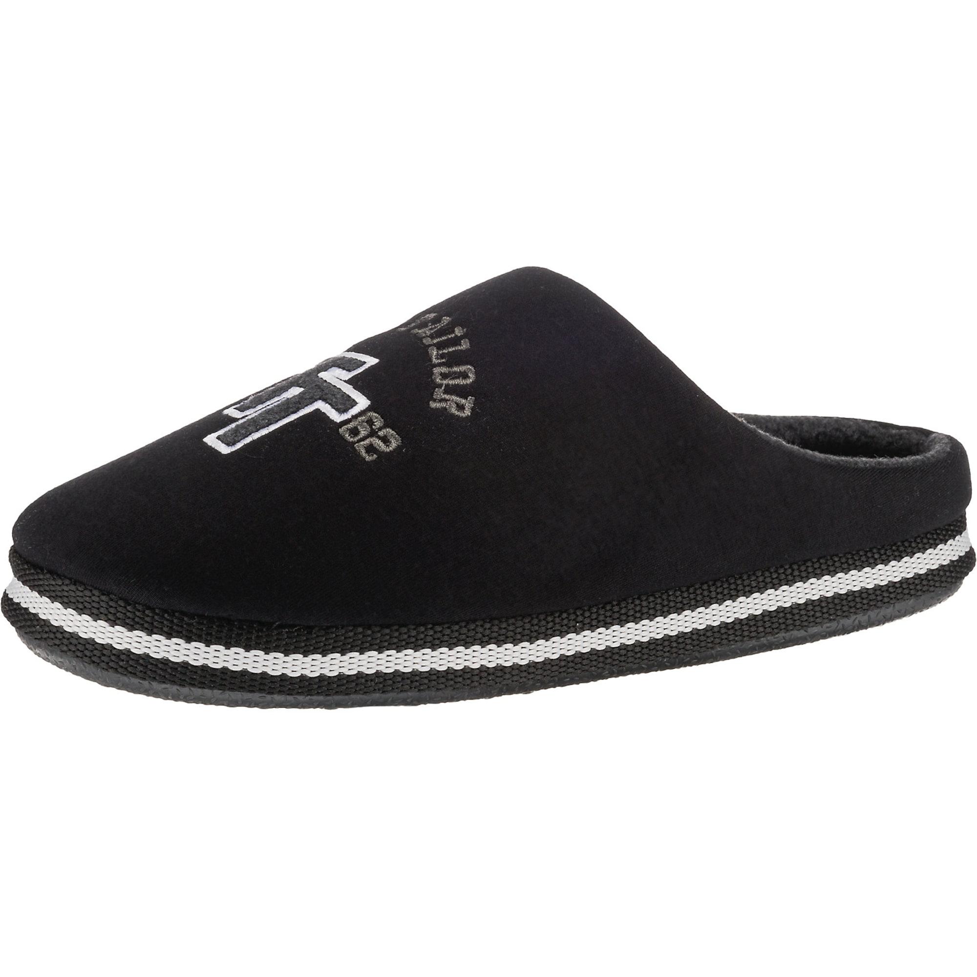 Pantoffeln | Schuhe > Hausschuhe > Pantoffeln | Schwarz - Weiß | TOM TAILOR