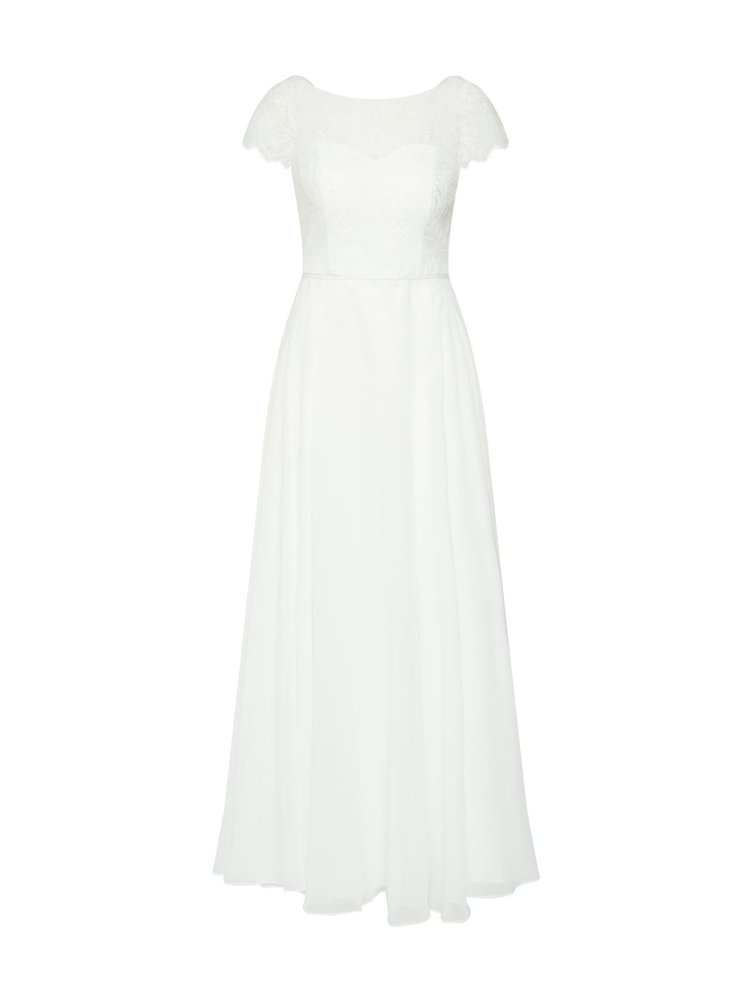 Společenské šaty bílá SWING