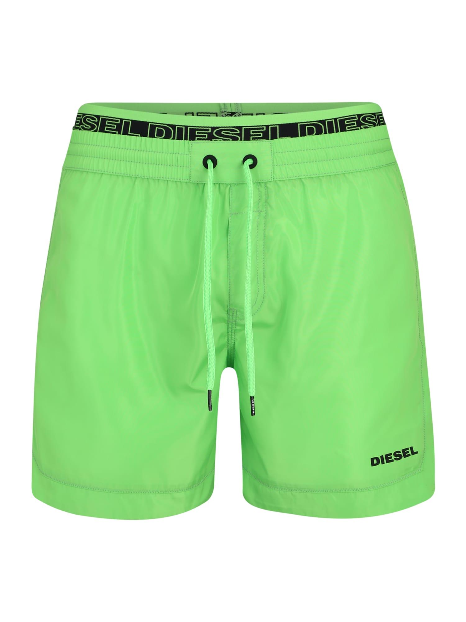 Plavecké šortky SW Boxer Medium zelená DIESEL