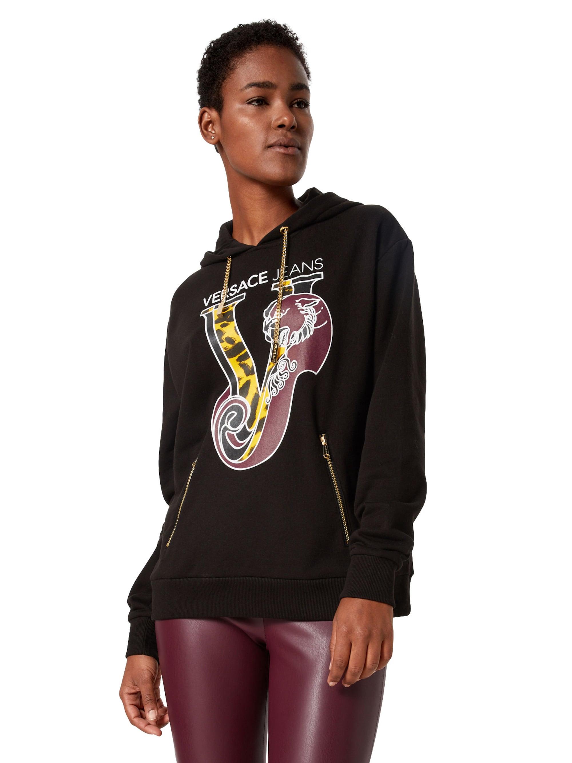 Versace Jeans Bluzka sportowa  czarny