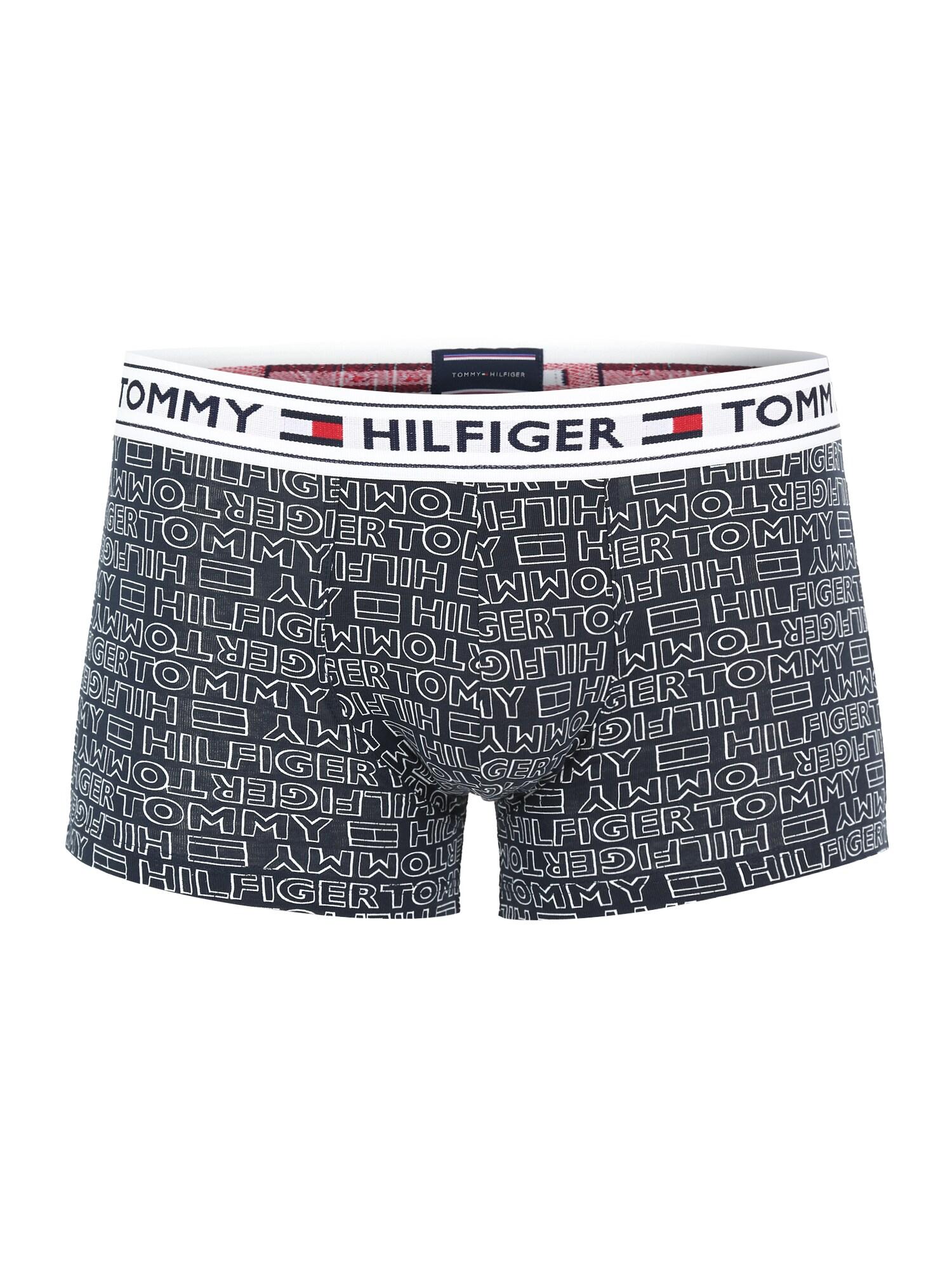 Boxerky REPEAT LOGO námořnická modř bílá Tommy Hilfiger Underwear