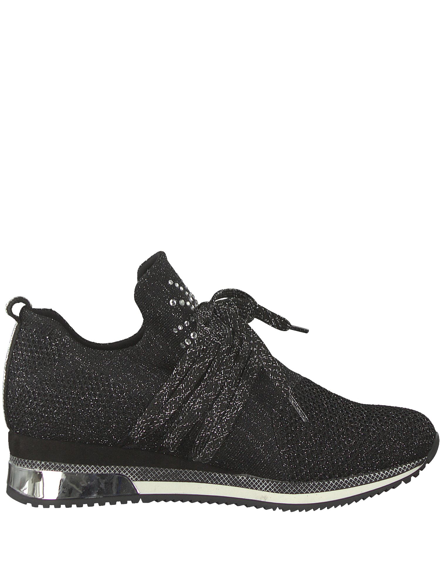 Sneakers laag 'Sneaker mit Glitzer'