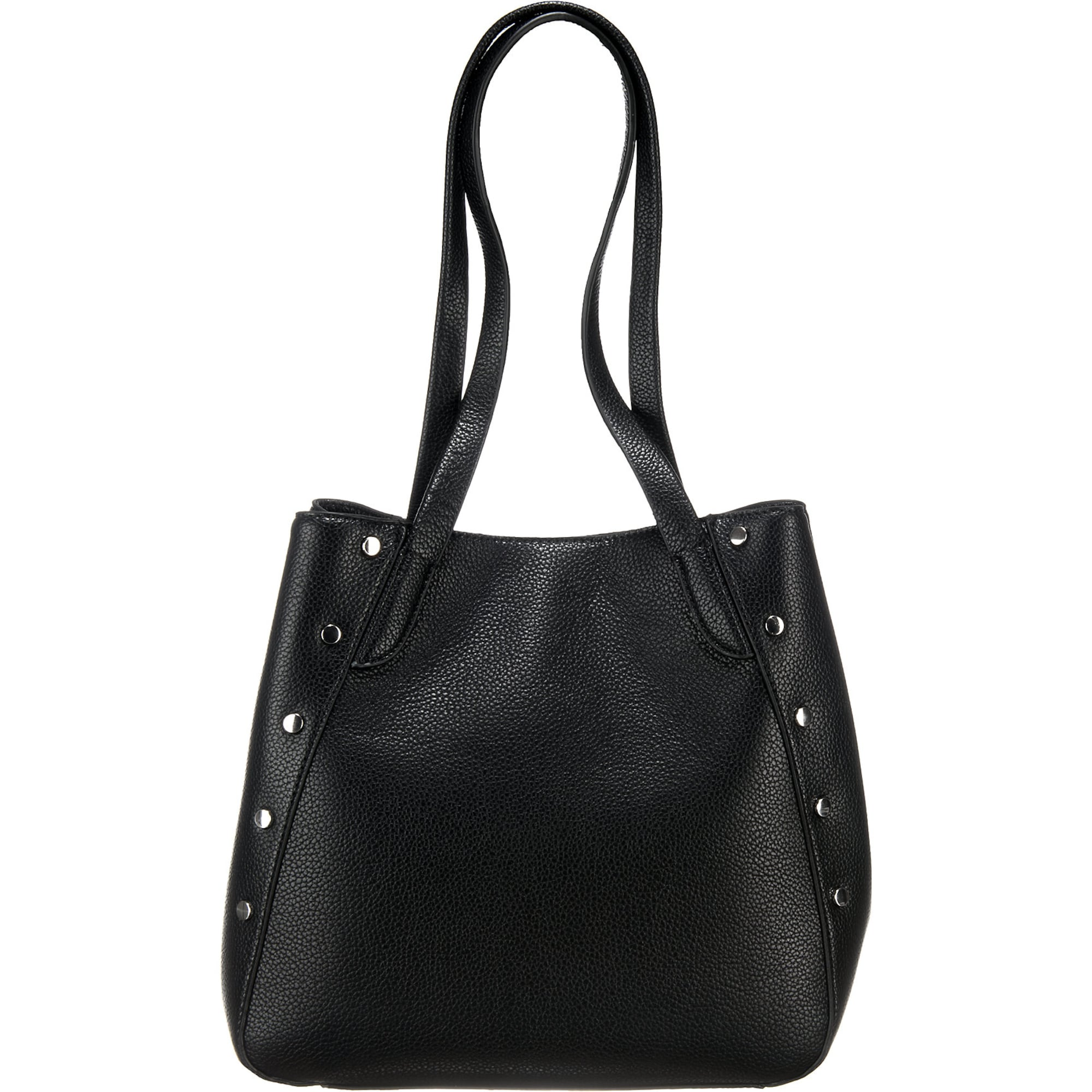 PIECES Studs Shopper Bag Dames Zwart