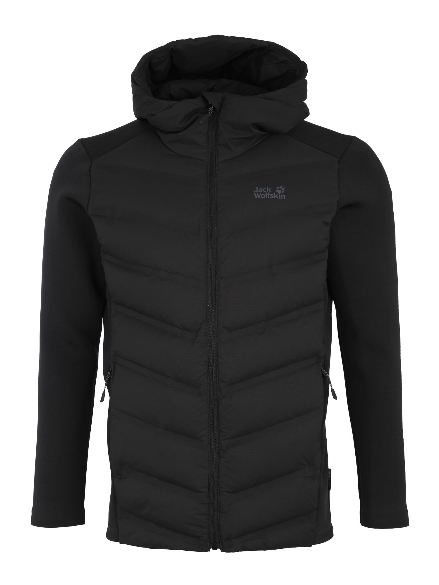 Outdoorová bunda TASMAN černá JACK WOLFSKIN