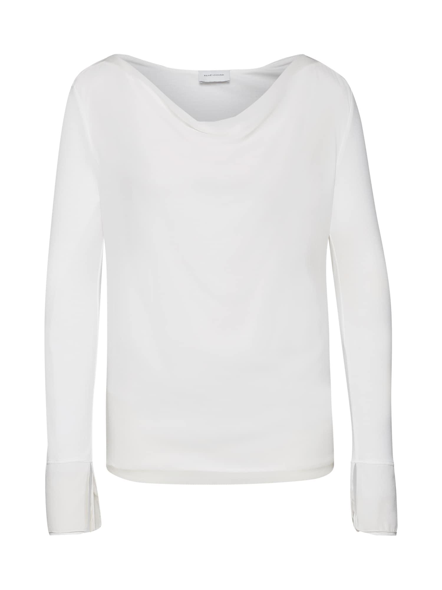 Tričko T401S bílá RENÉ LEZARD