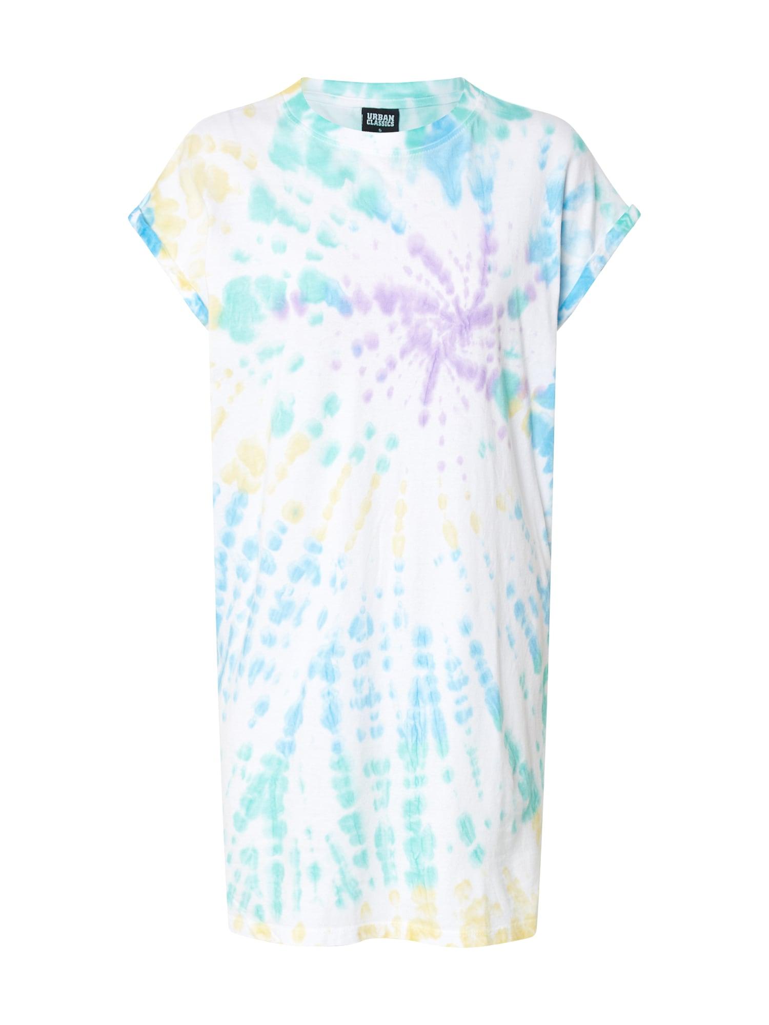 Urban Classics Šaty  zmiešané farby / fialová / modré