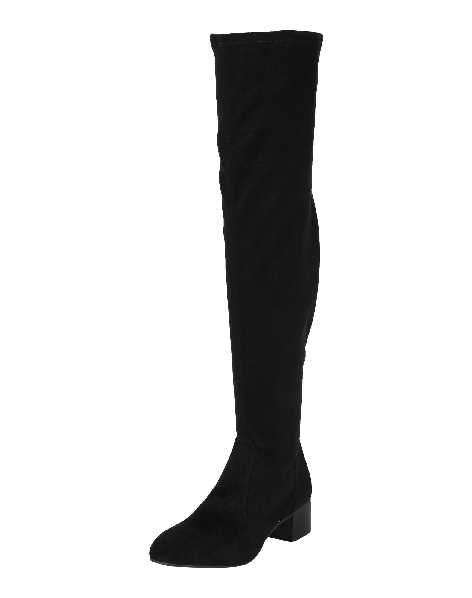 ESPRIT, Dames Overknee laarzen 'Nola', zwart