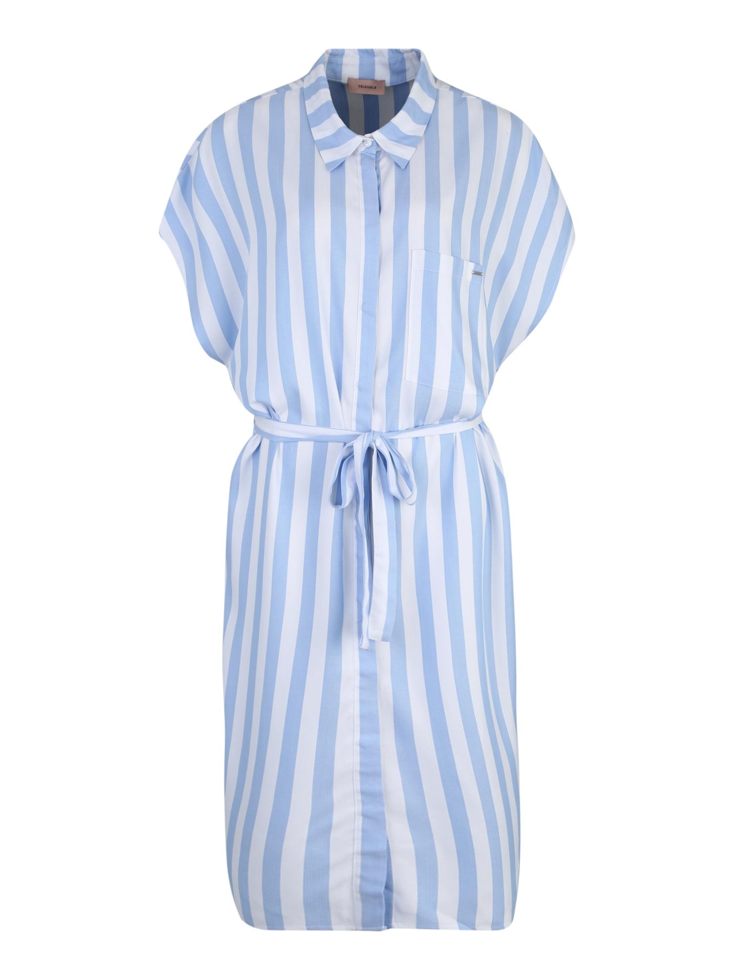 Košilové šaty světlemodrá TRIANGLE