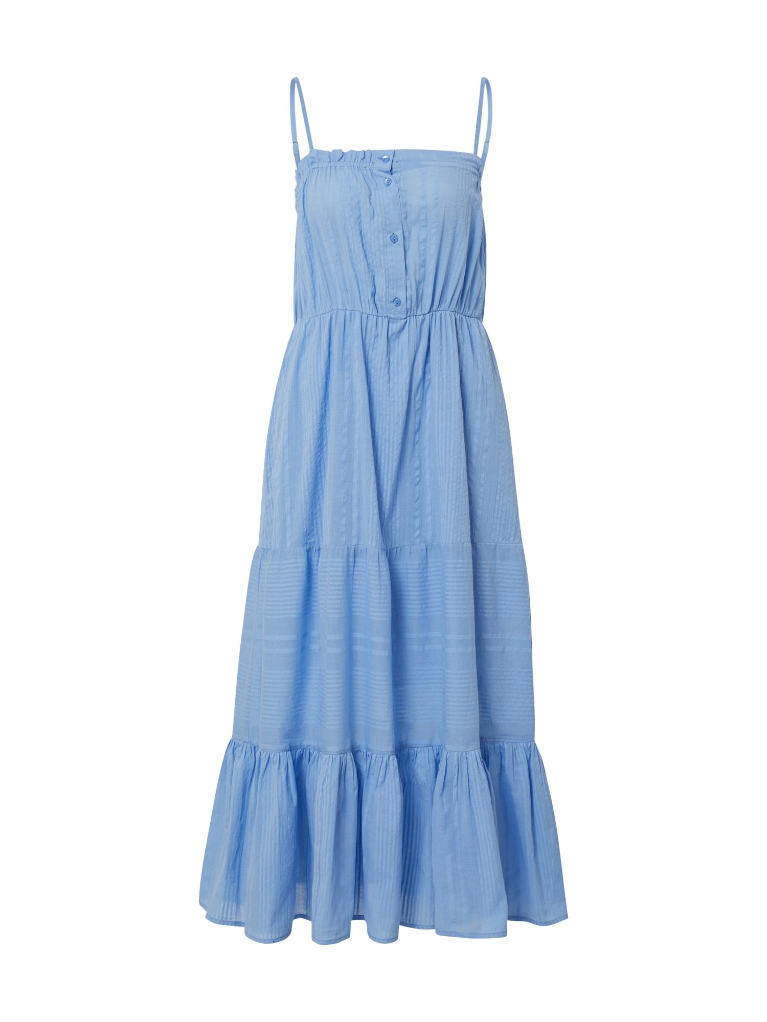 Y.A.S Letní šaty 'CUCIA'  světlemodrá