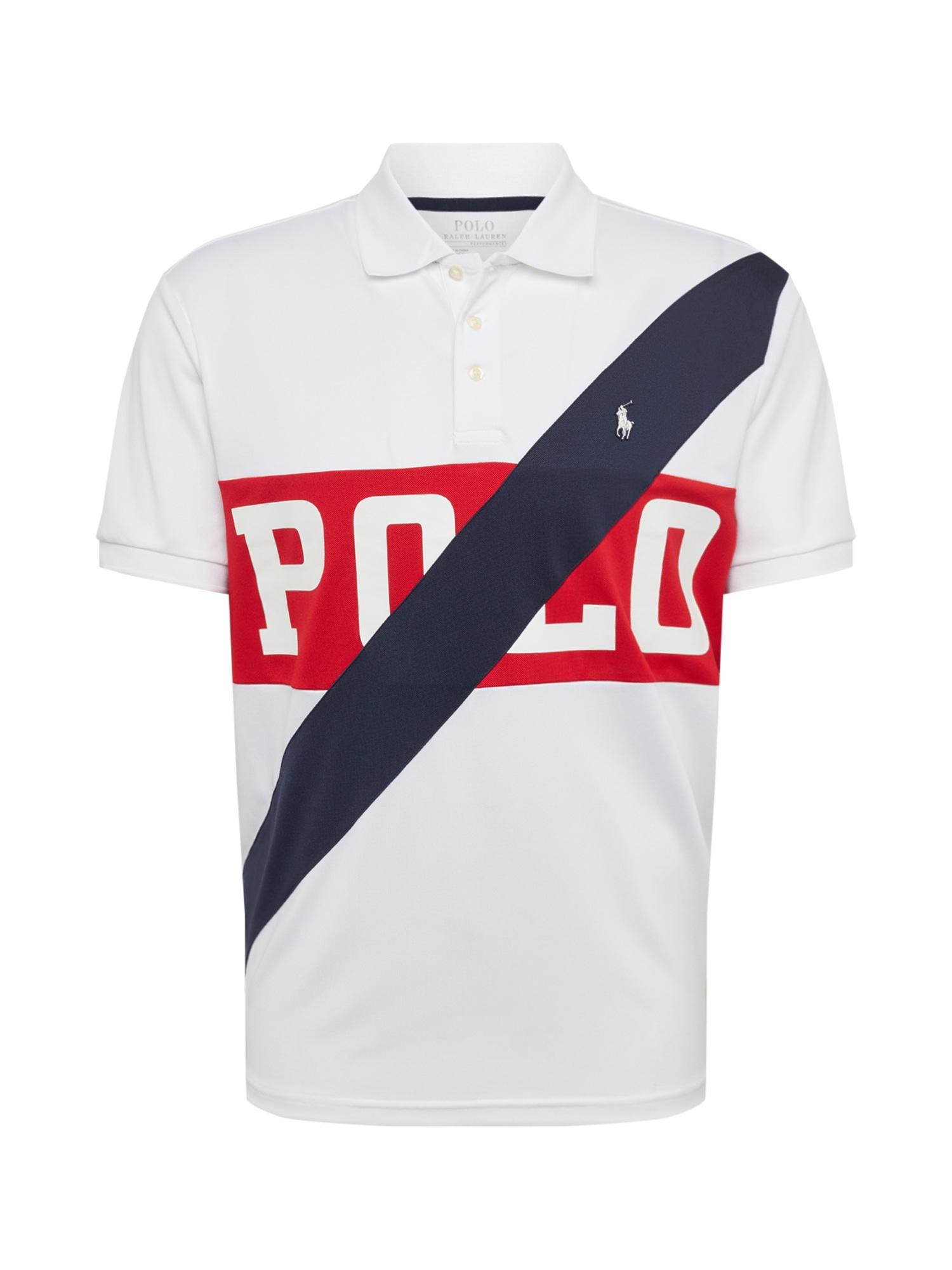 Tričko tmavě modrá červená bílá POLO RALPH LAUREN