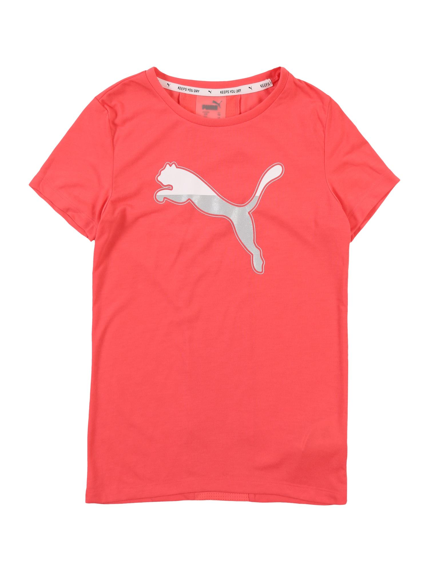 PUMA Funkčné tričko 'Active Sports Tee G'  koralová
