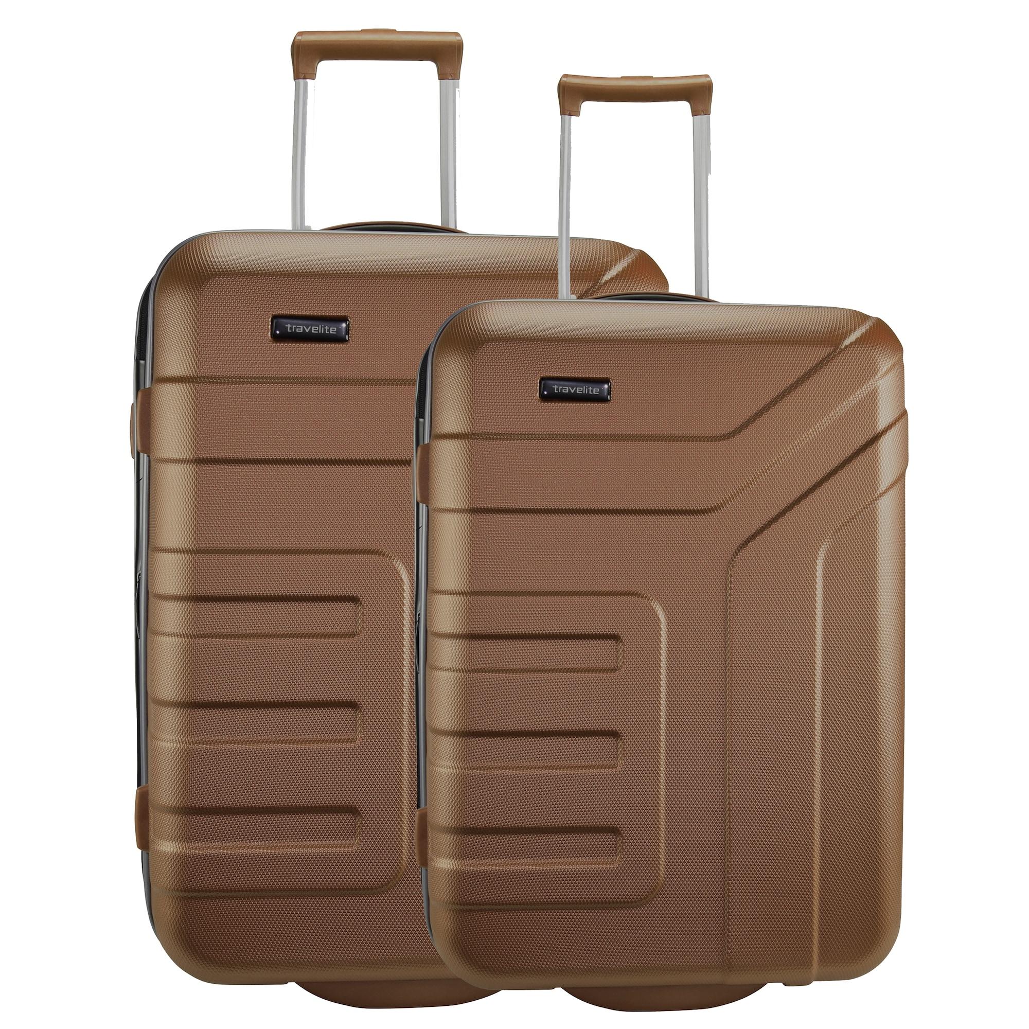 Kofferset 2tlg. | Taschen > Koffer & Trolleys > Koffersets | Braun | Travelite