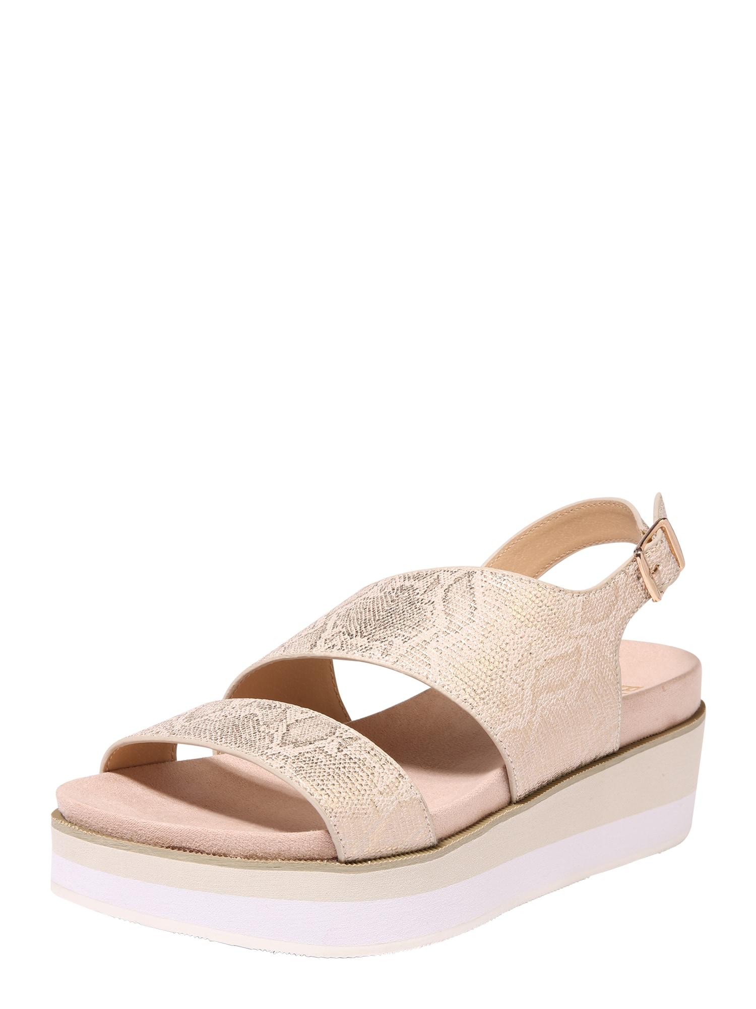 Sandály zlatá BULLBOXER