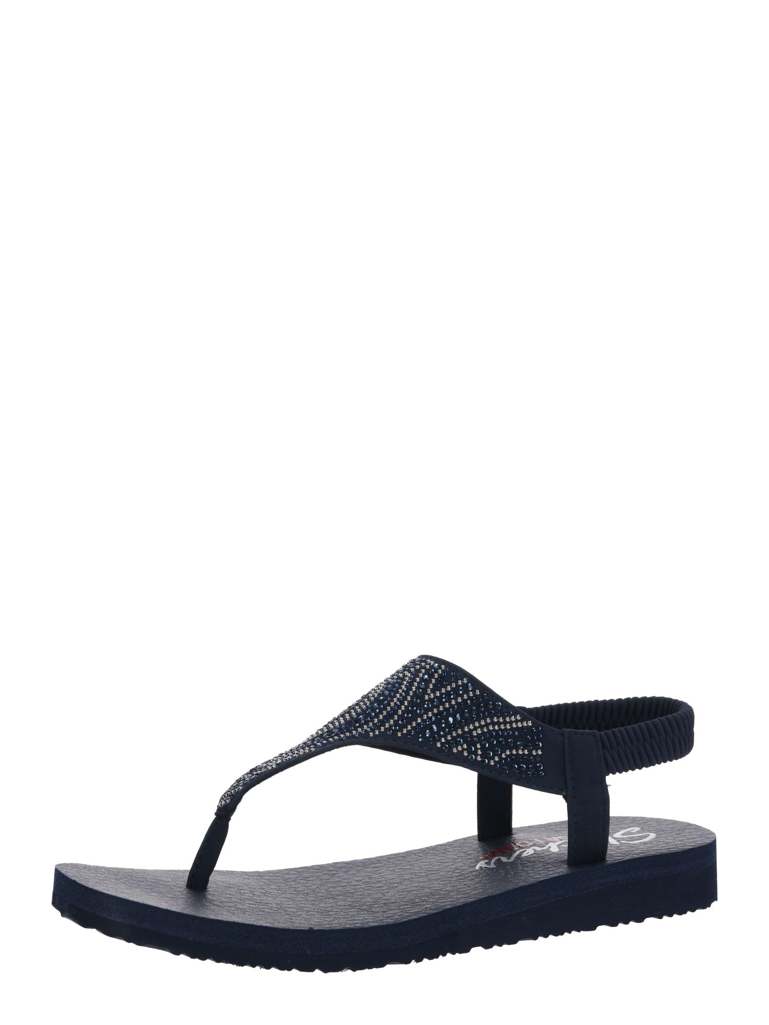 SKECHERS Remienkové sandále 'MEDITATION NEW MOON'  námornícka modrá