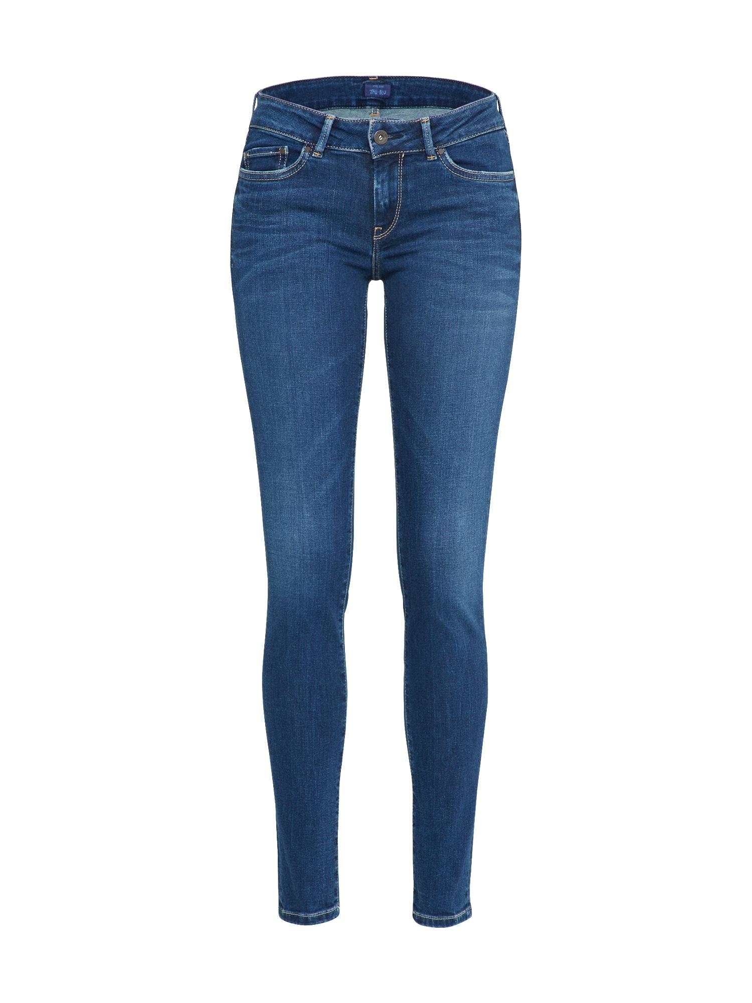 Pepe Jeans Dames Jeans Pixie Garrigou blue denim
