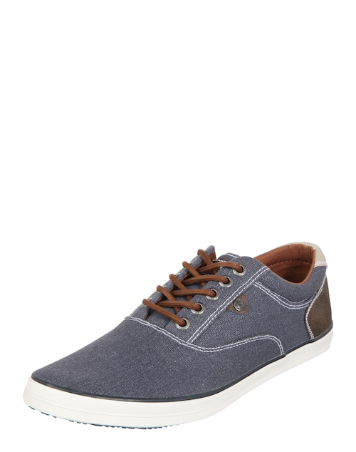 Flacher Stoff-Sneaker
