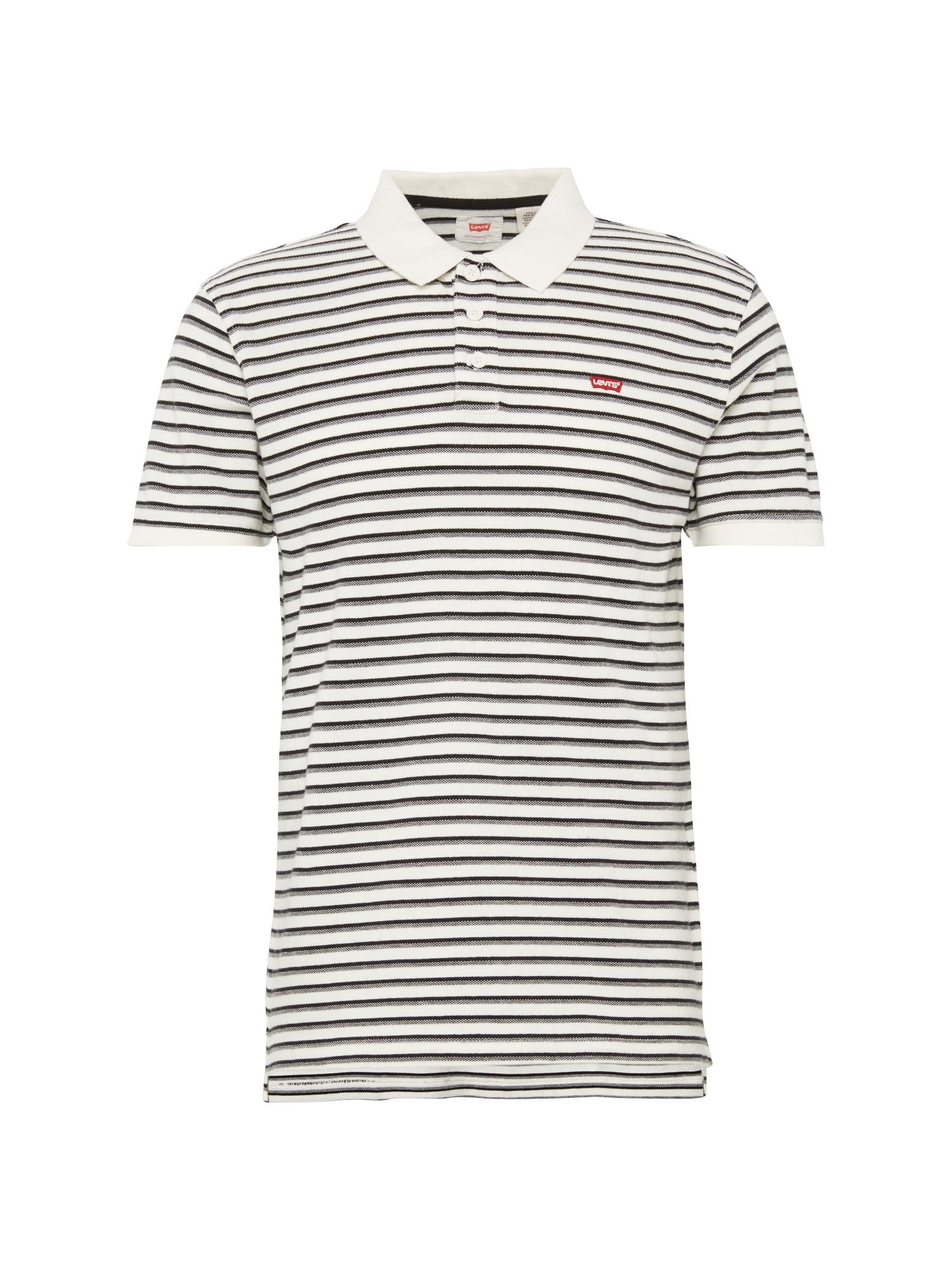 LEVI'S Heren Shirt STANDARD HM GOOD POLO crème zwart