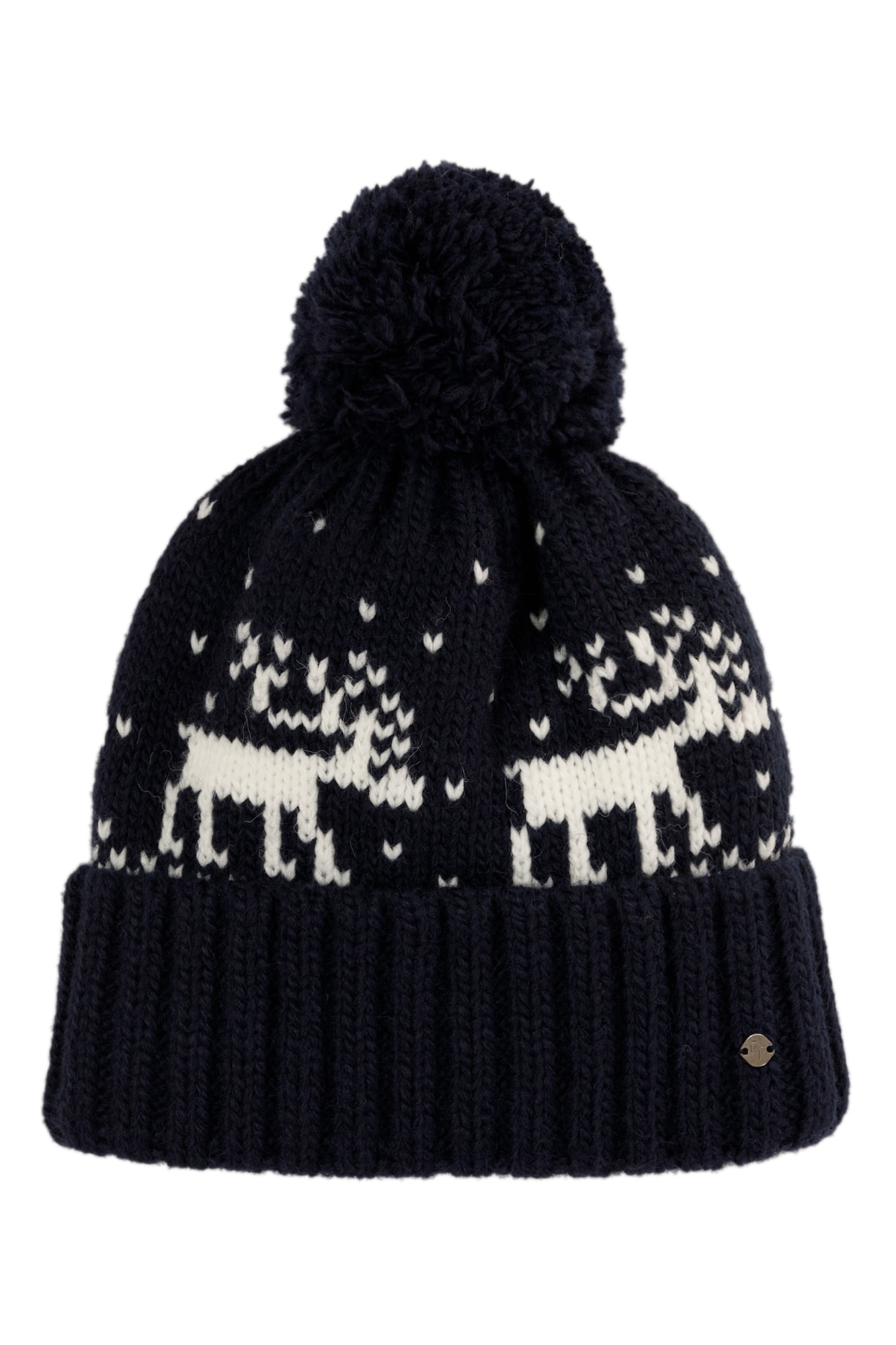 finn flare - Mütze mit winterlichem Strickmuster