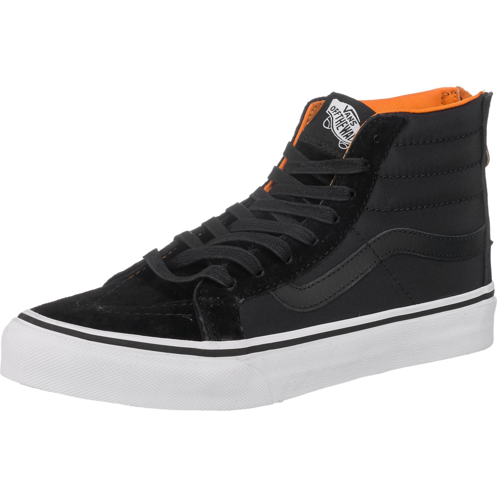 'Sk8-Hi Slim Zip' Sneakers   Schuhe > Sneaker   Orange - Schwarz   Vans
