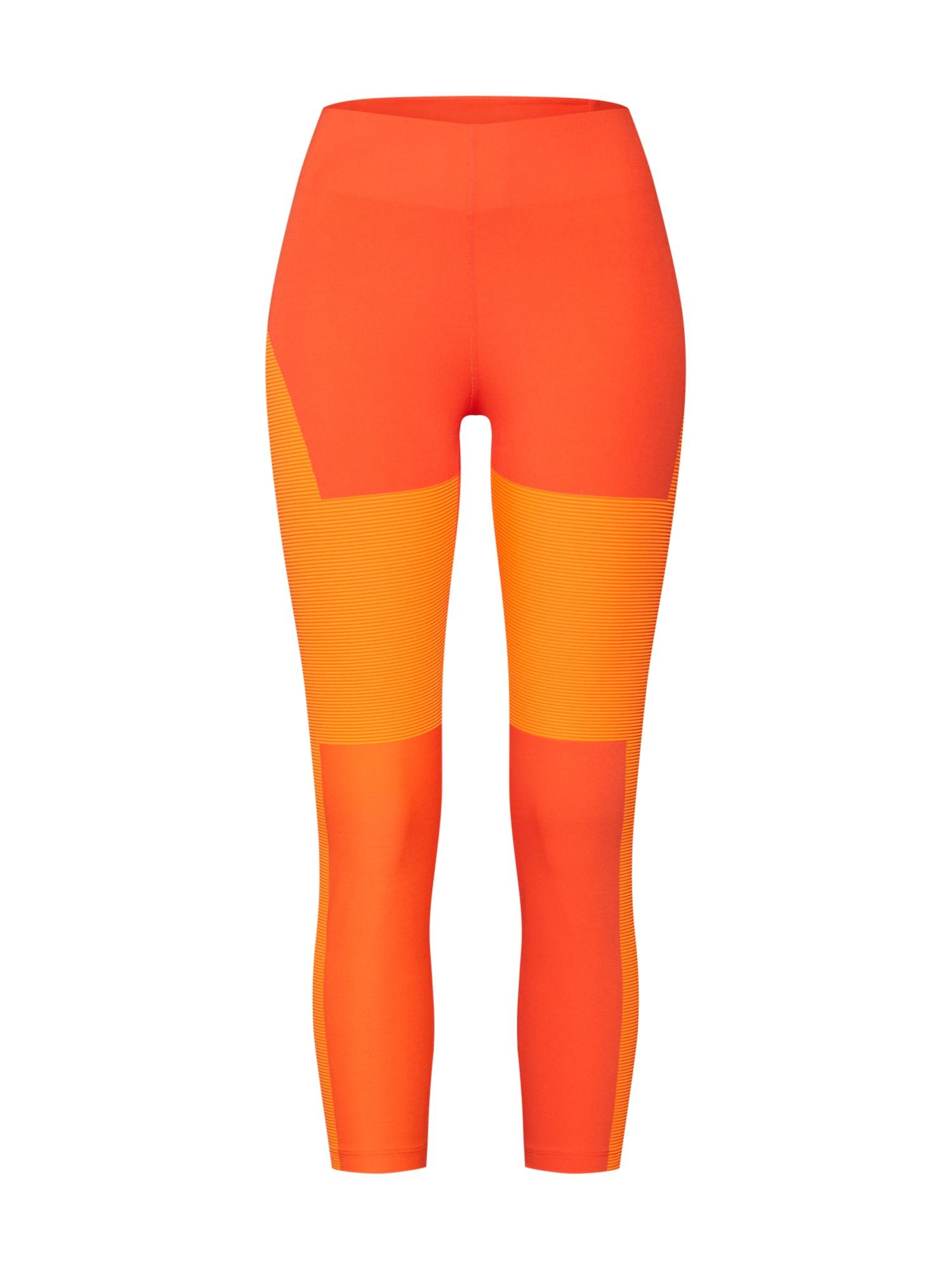 Sportovní kalhoty W NK Tech Pack Crop oranžová tmavě oranžová NIKE