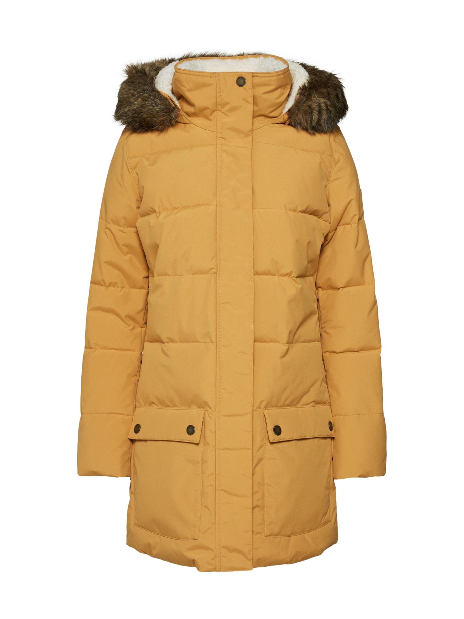 Funkční kabát ELLIE meruňková ROXY