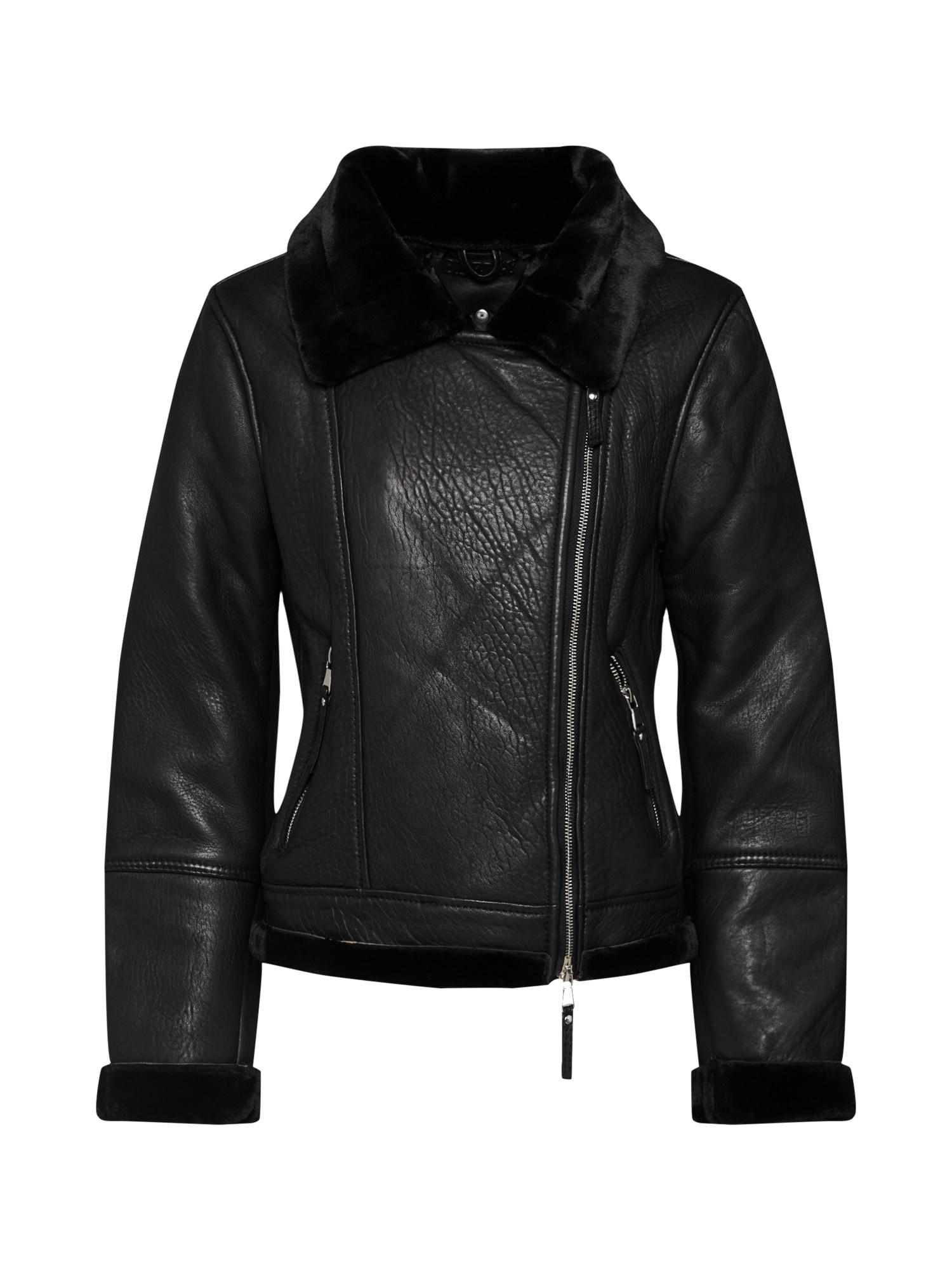 Zimní bunda BEkira černá BE EDGY