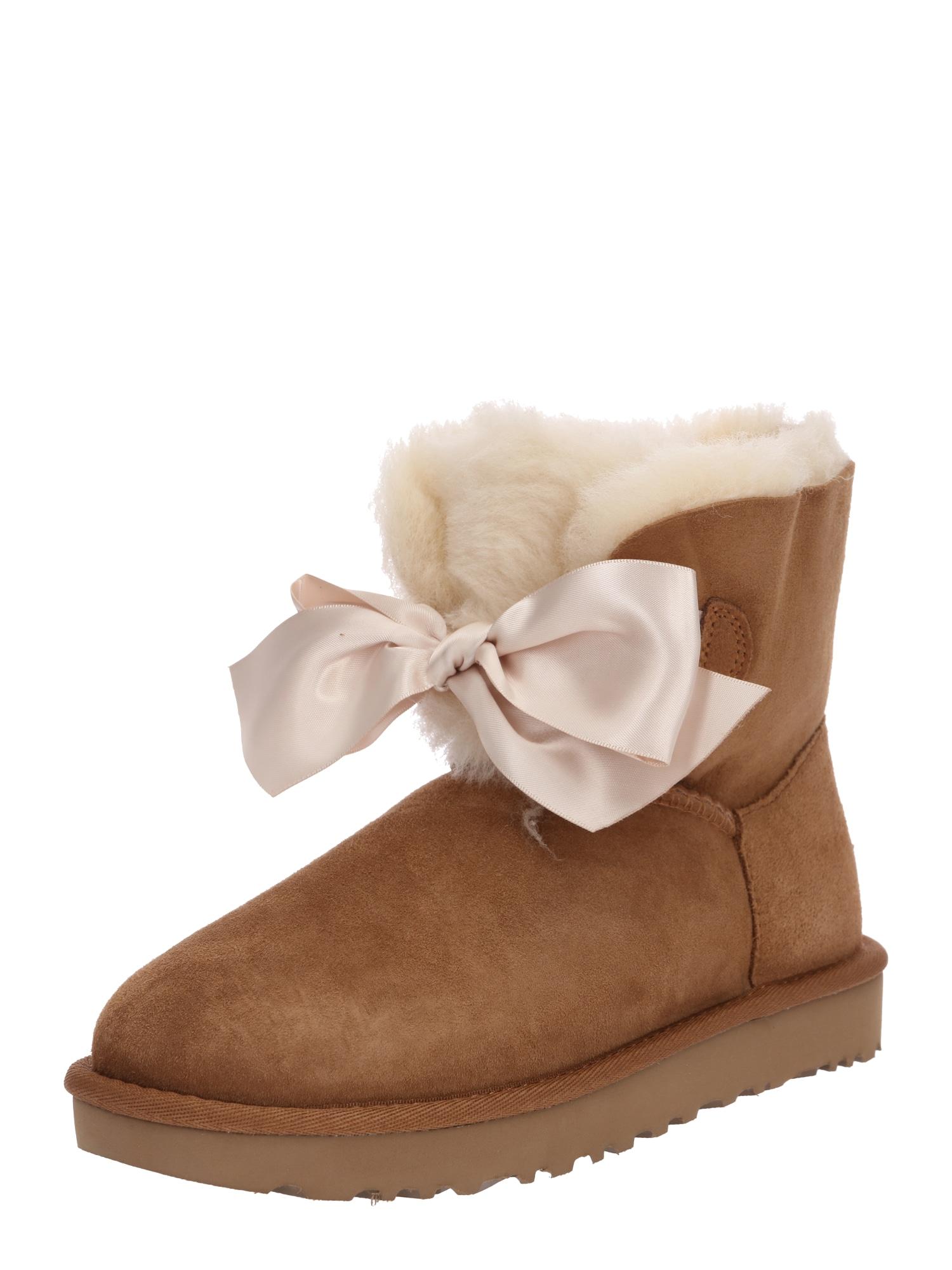 Sněhule Gita Bow Mini karamelová UGG