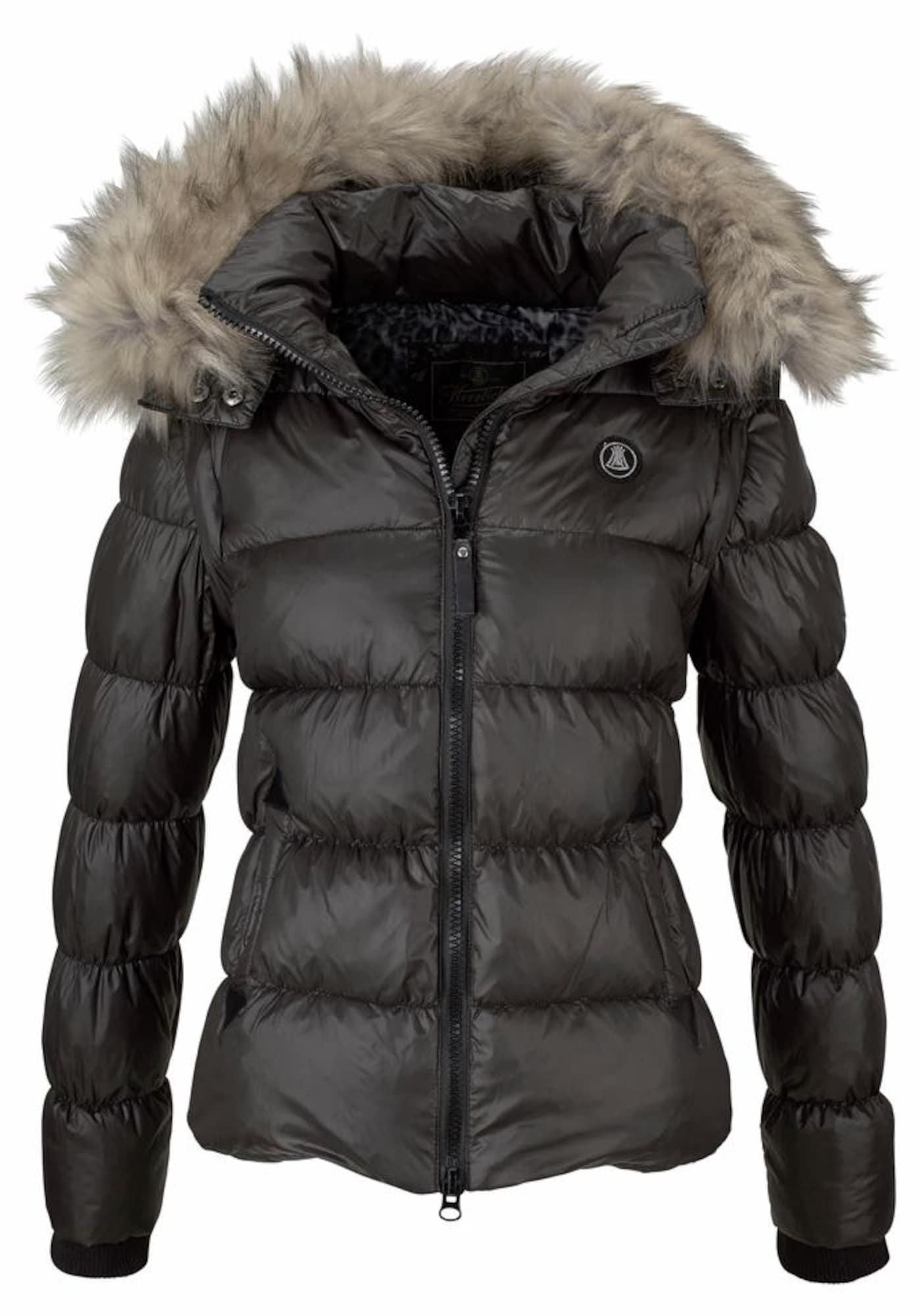 Zimní bunda Cora černá Herrlicher