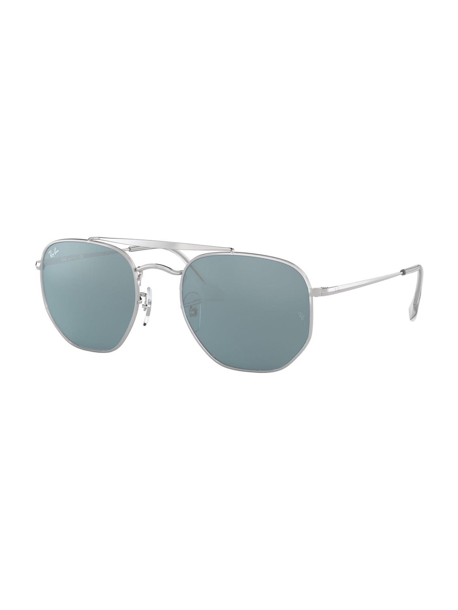 Ray-Ban Sluneční brýle 'Marshal'  stříbrná / modrá
