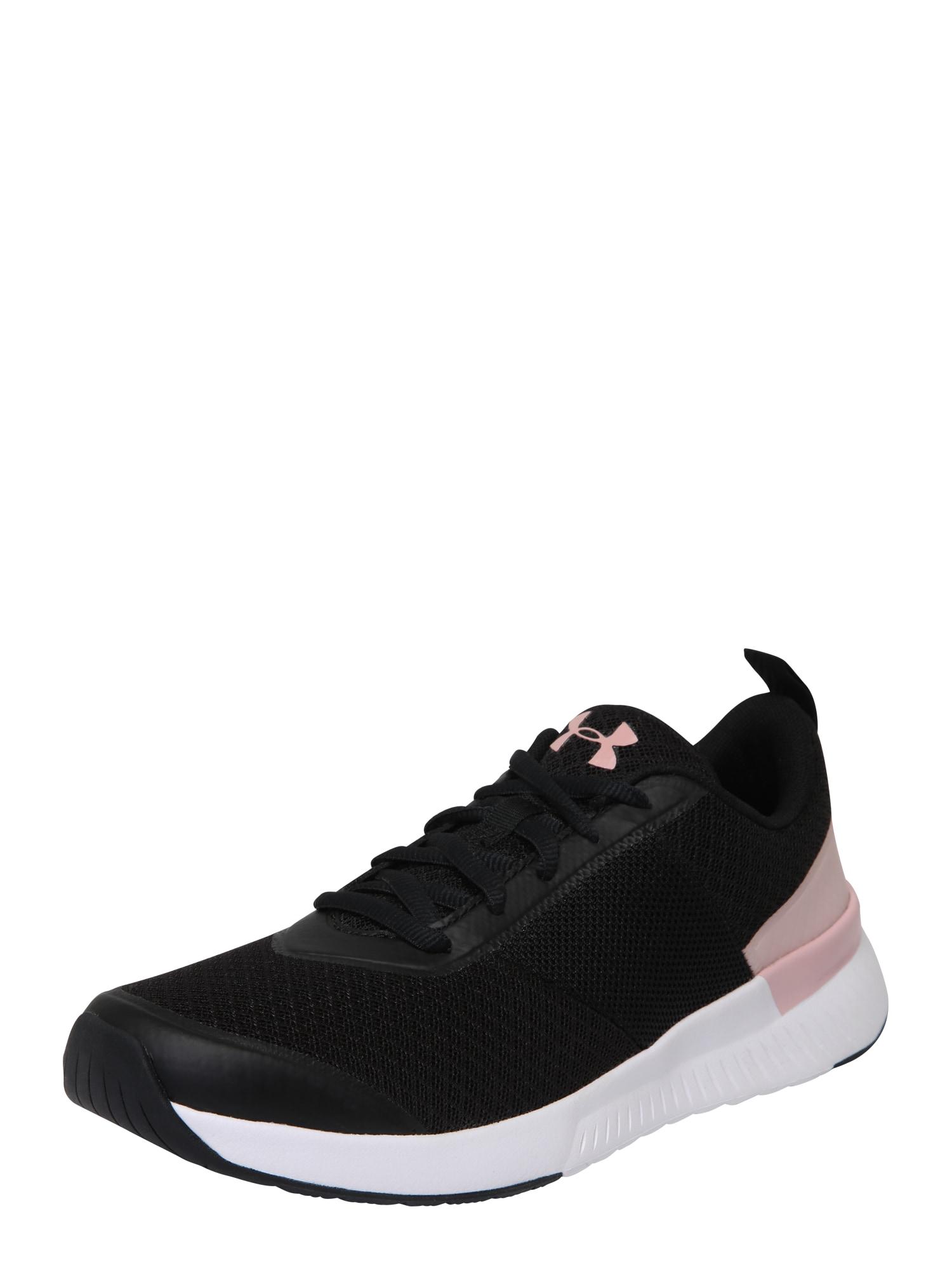 UNDER ARMOUR, Dames Sportschoen 'Aura Trainer', rosa / zwart / wit