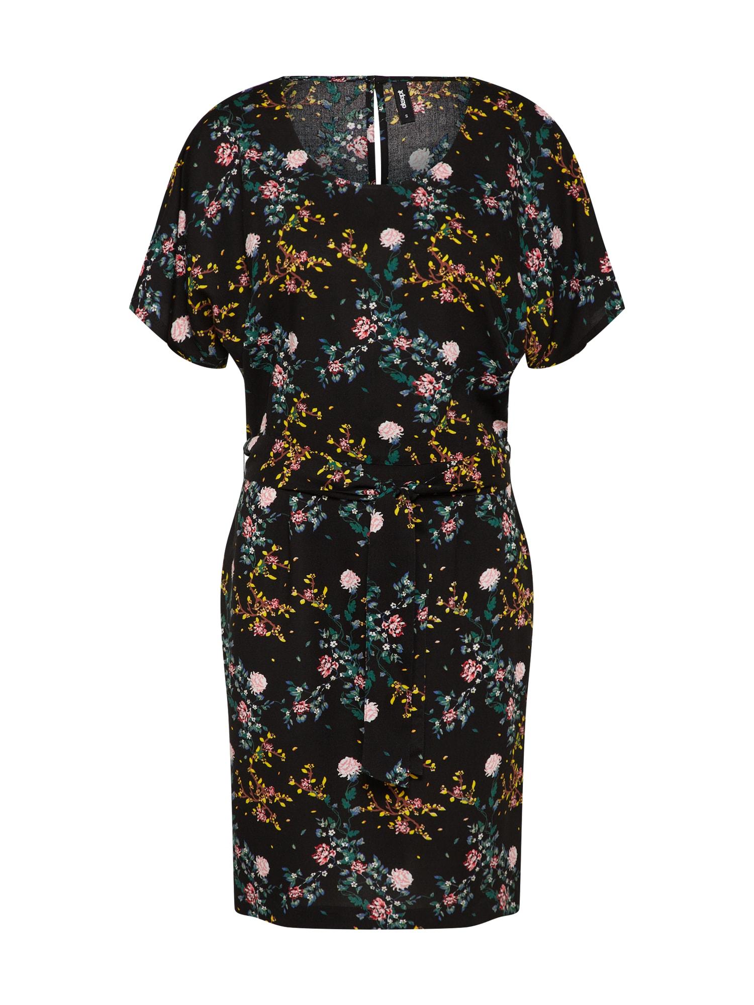Letní šaty BUTTERFLY mix barev černá Eksept