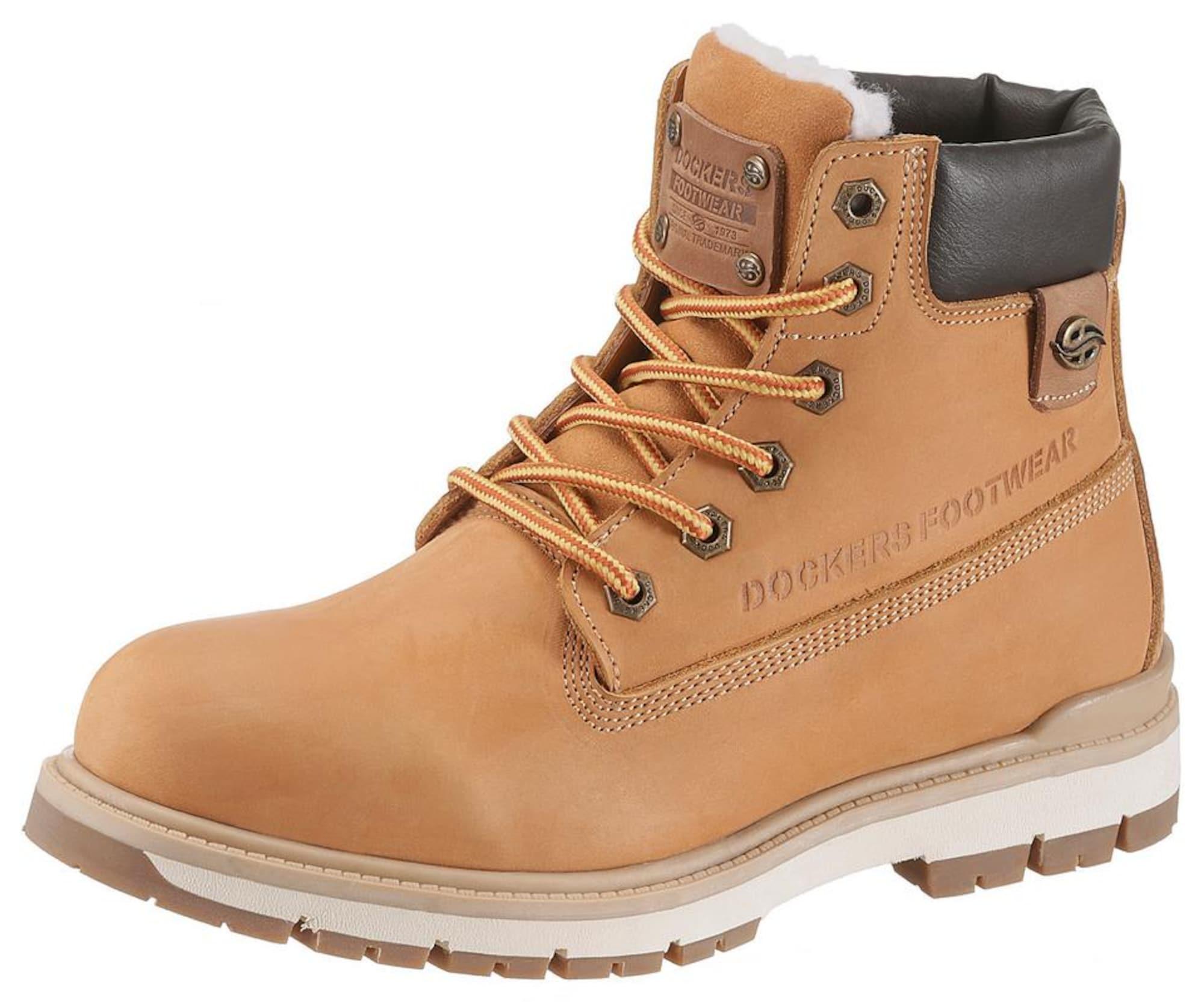 Schnürboots | Schuhe > Boots > Schnürboots | Hellbraun | Dockers By Gerli