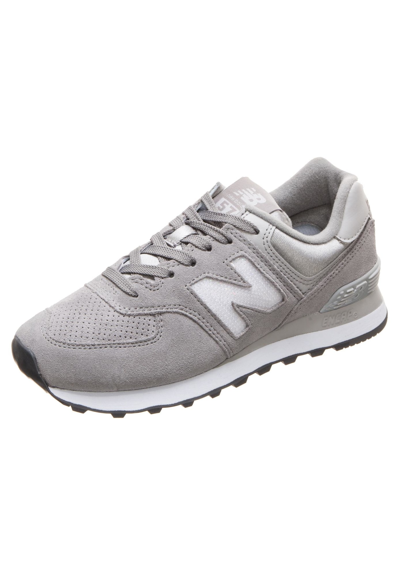 New Balance, Dames Sneakers laag 'WL574-FHC-B', grijs / wit