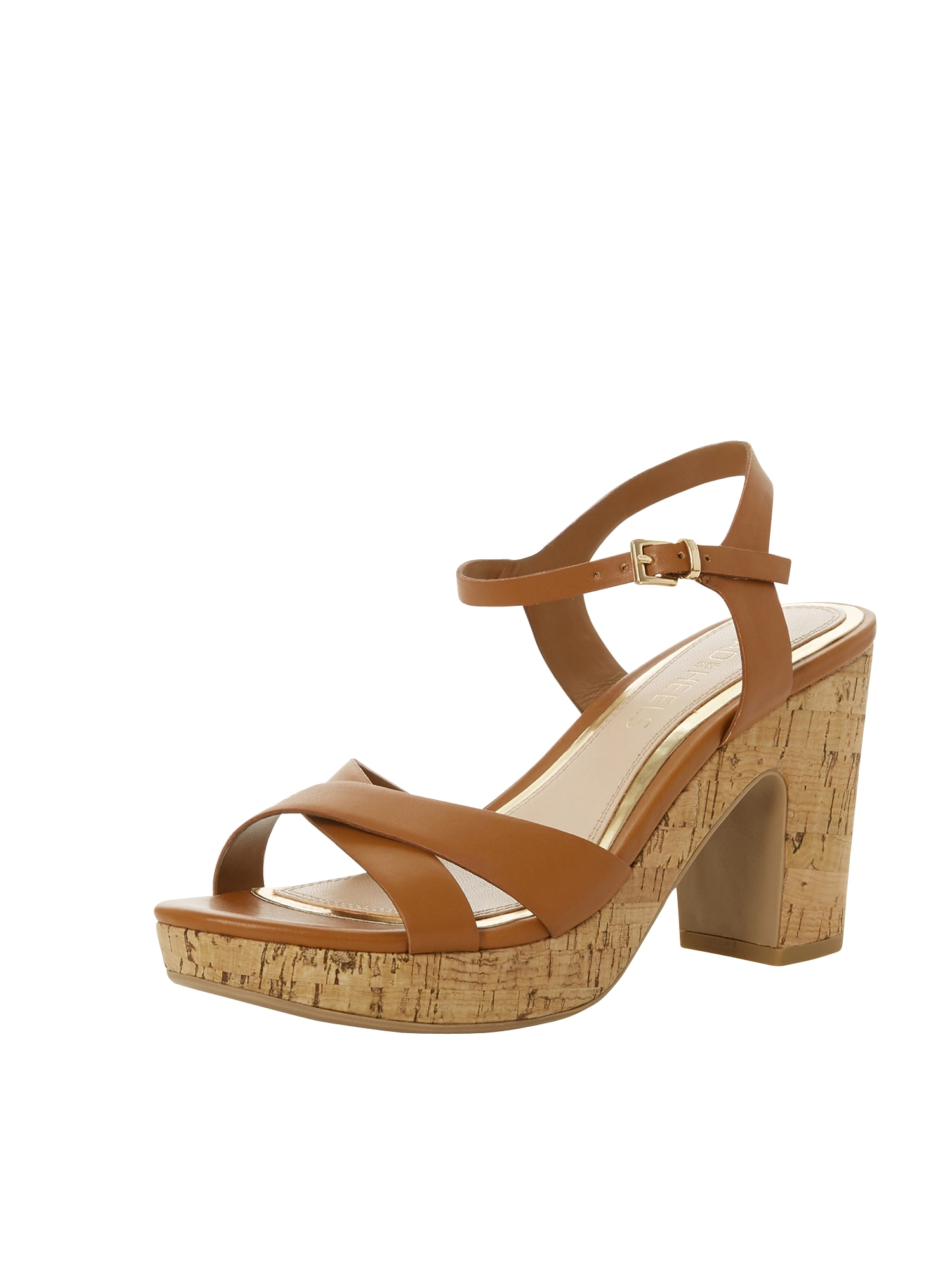 Páskové sandály JOANY koňaková Head Over Heels