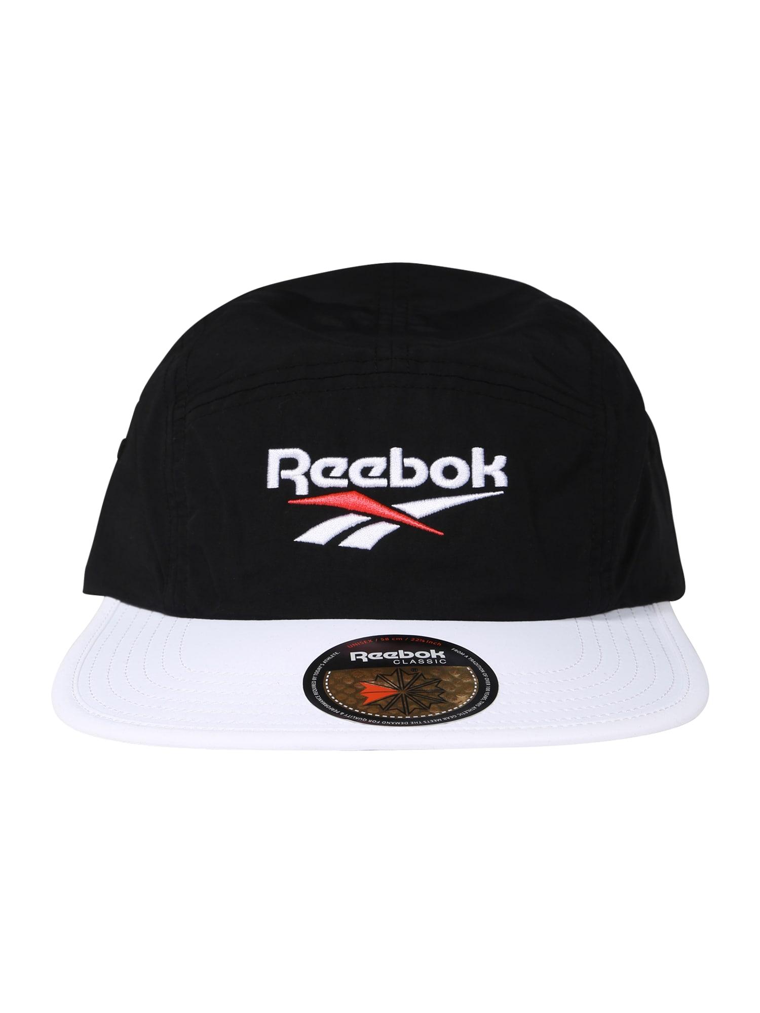Kšiltovka Retro running červená černá bílá Reebok Classic
