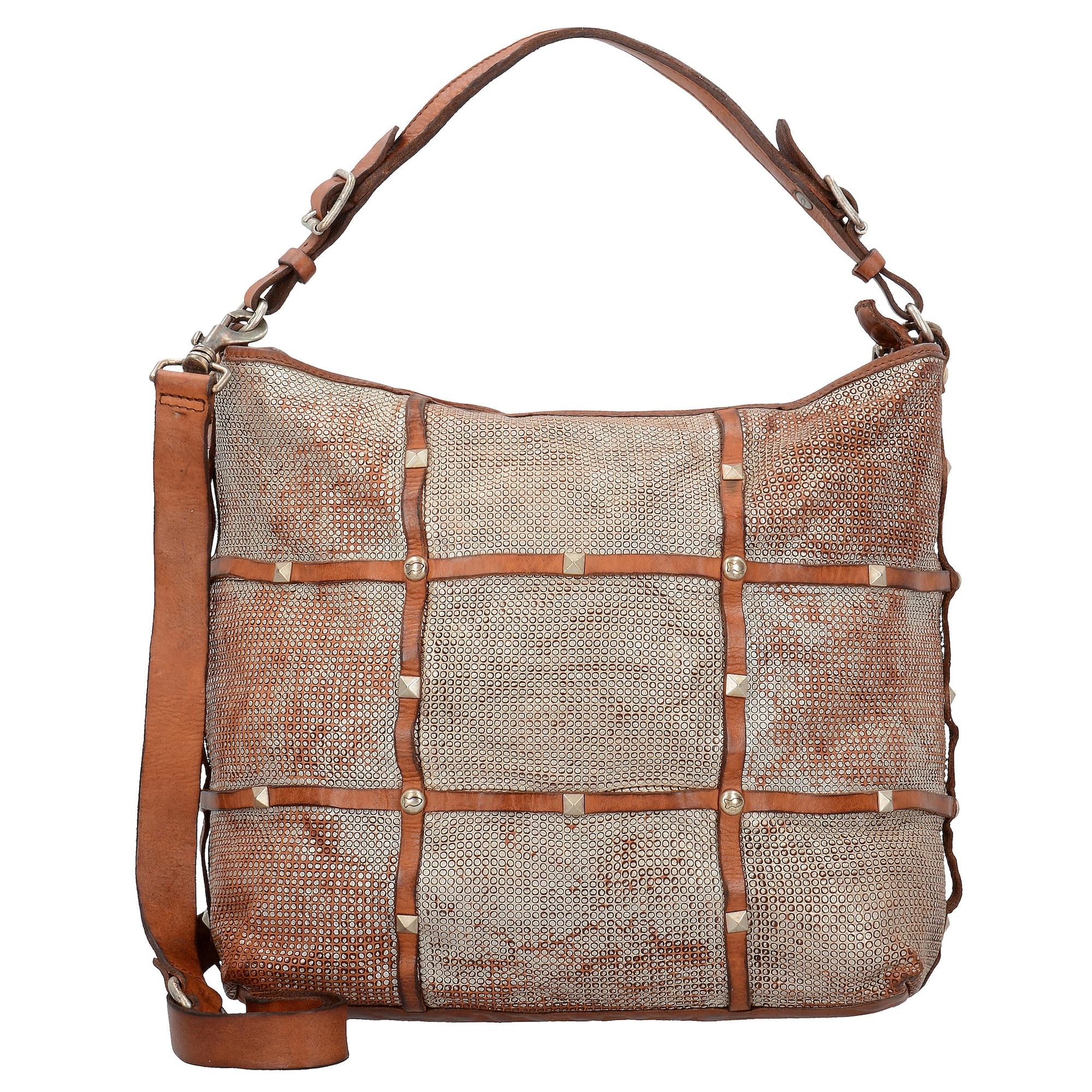 Clematide Shopper Tasche Leder 32 cm