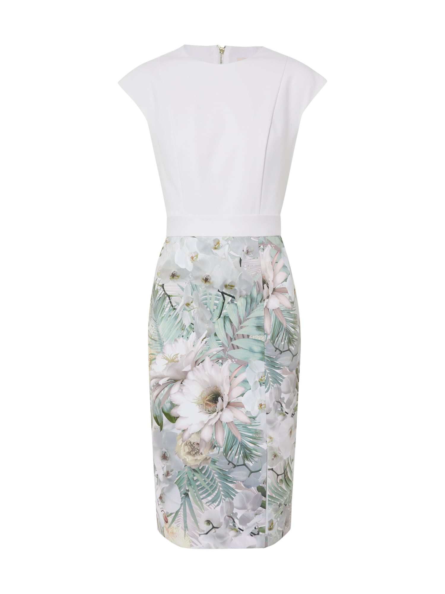 Ted Baker Puzdrové šaty 'Hanalee'  zmiešané farby / biela