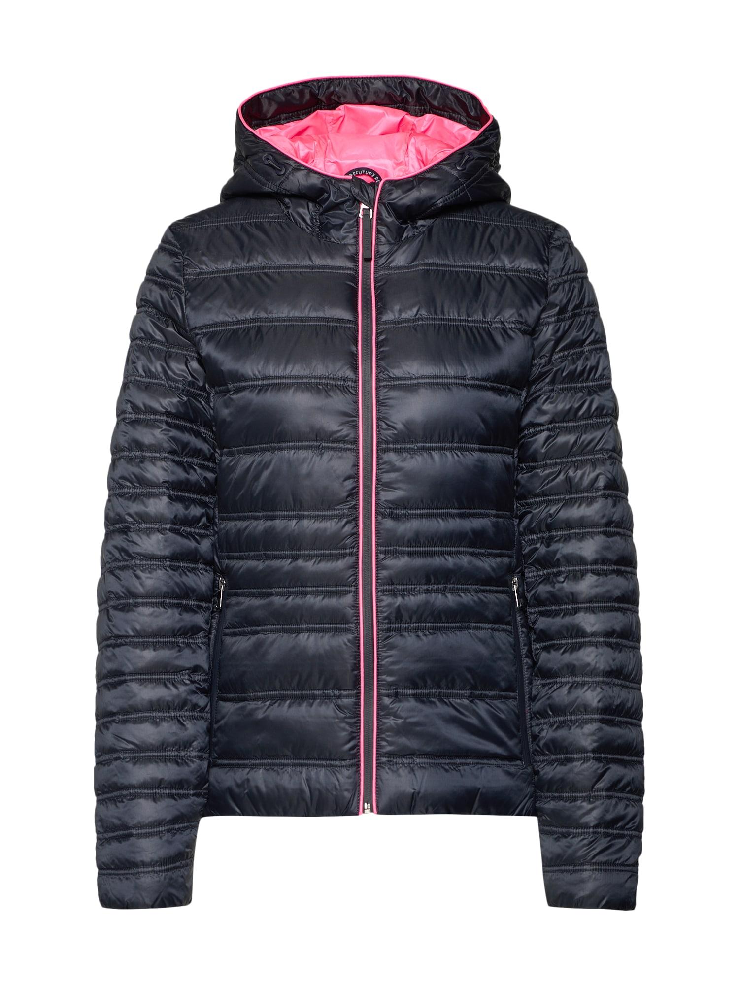 Marc OPolo DENIM Zimní bunda noční modrá pink Marc O'Polo DENIM