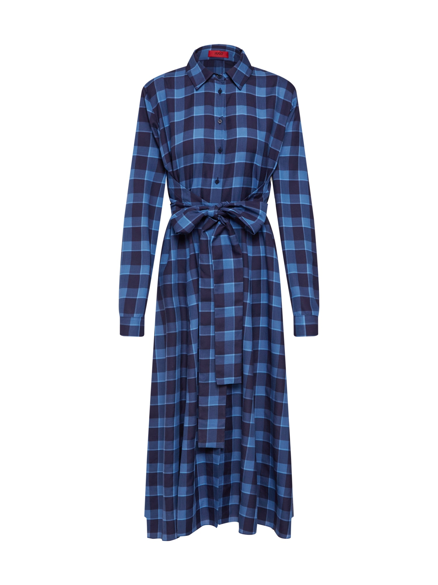 Košilové šaty Kolema modrá HUGO