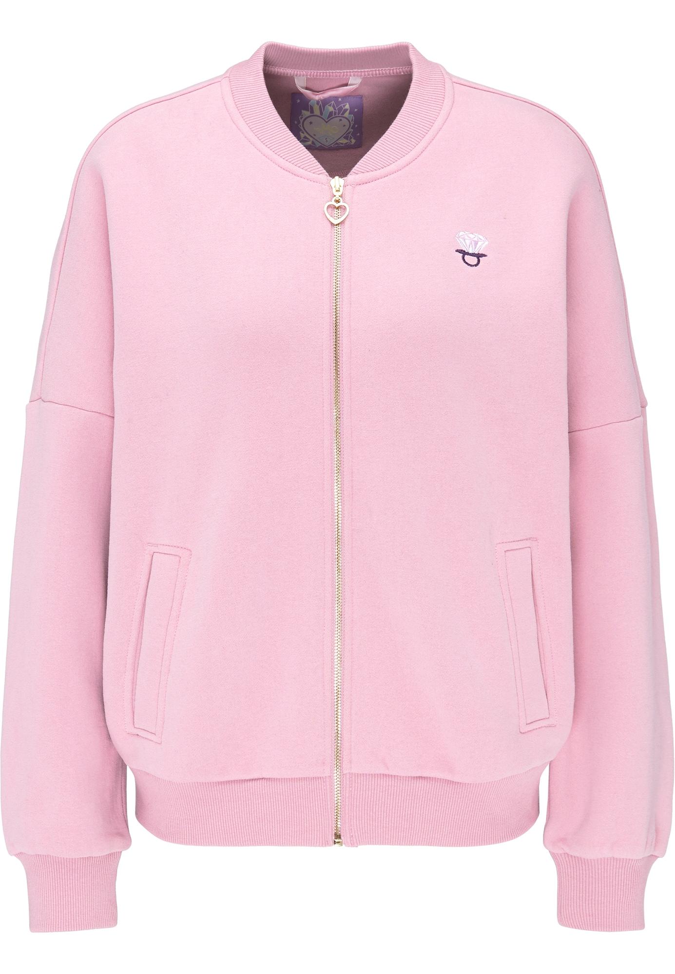 Sweatjacke | Bekleidung > Sweatshirts & -jacken > Sweatjacken | Pink | MYMO