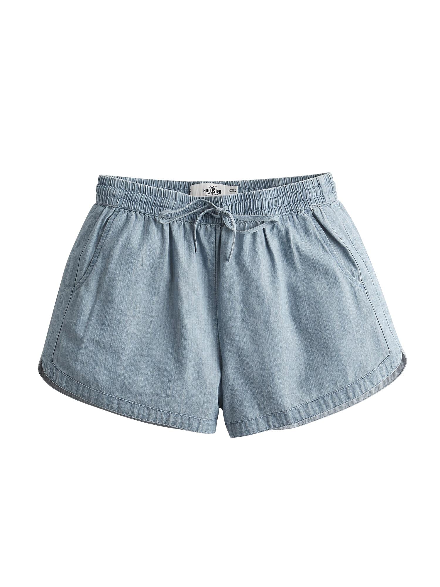 HOLLISTER Kalhoty  světlemodrá
