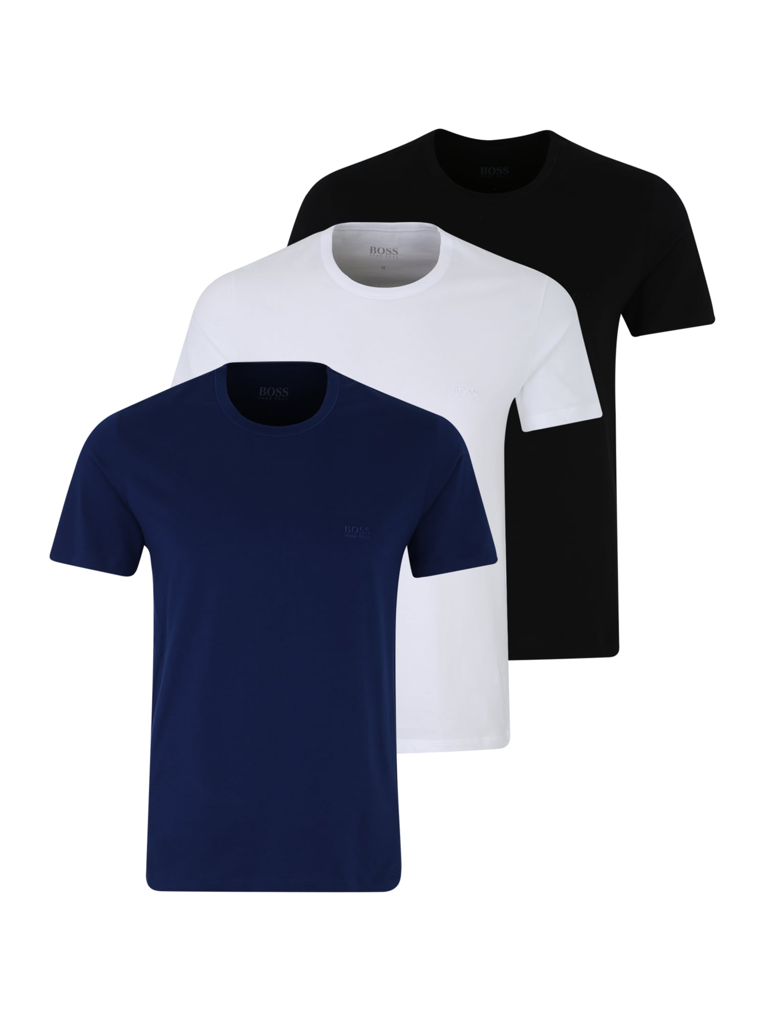 Tílko T-Shirt RN 3P modrá černá bílá BOSS