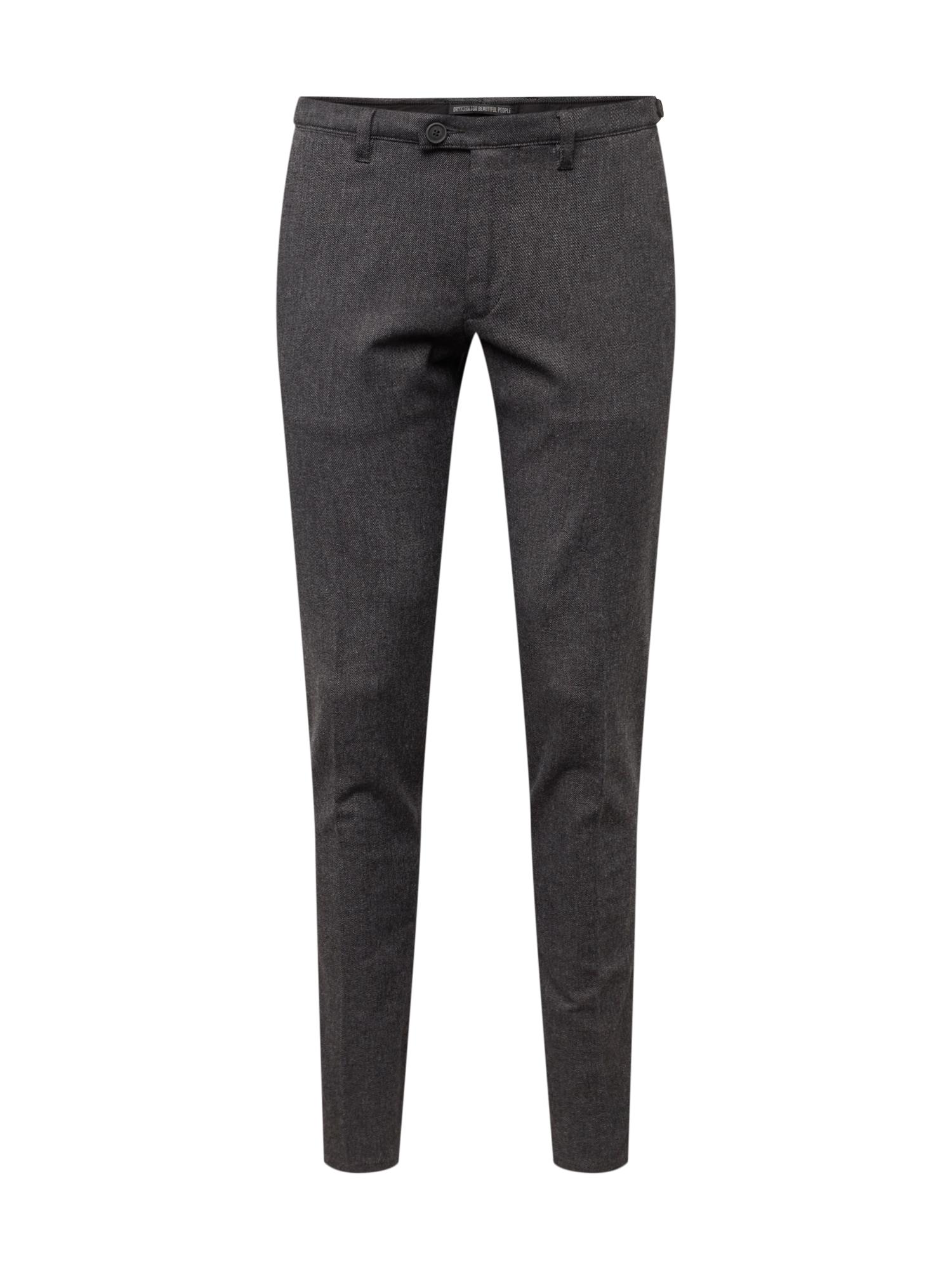 Chino kalhoty KILL tmavě šedá DRYKORN