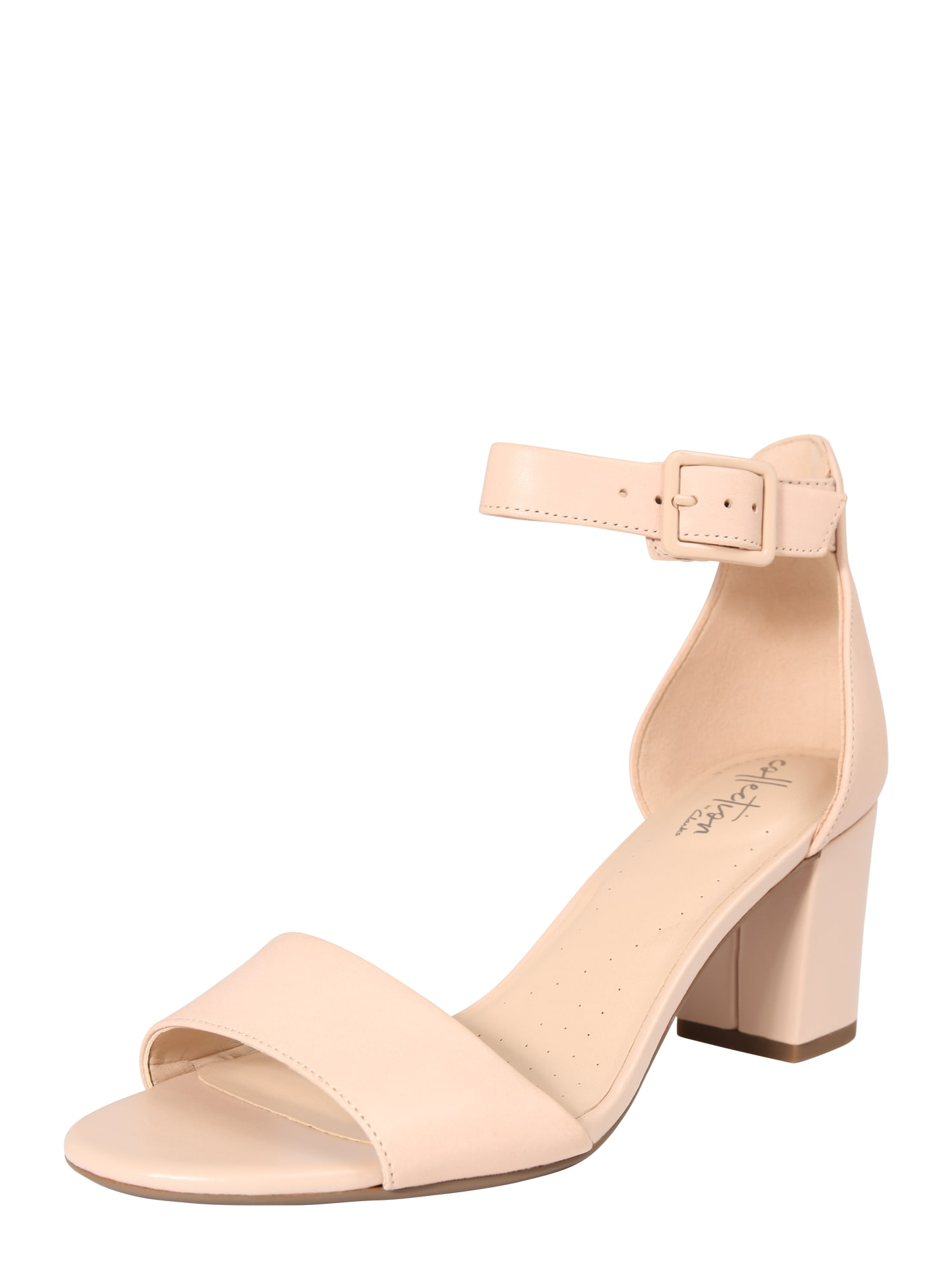 Páskové sandály Deva Mae tělová CLARKS