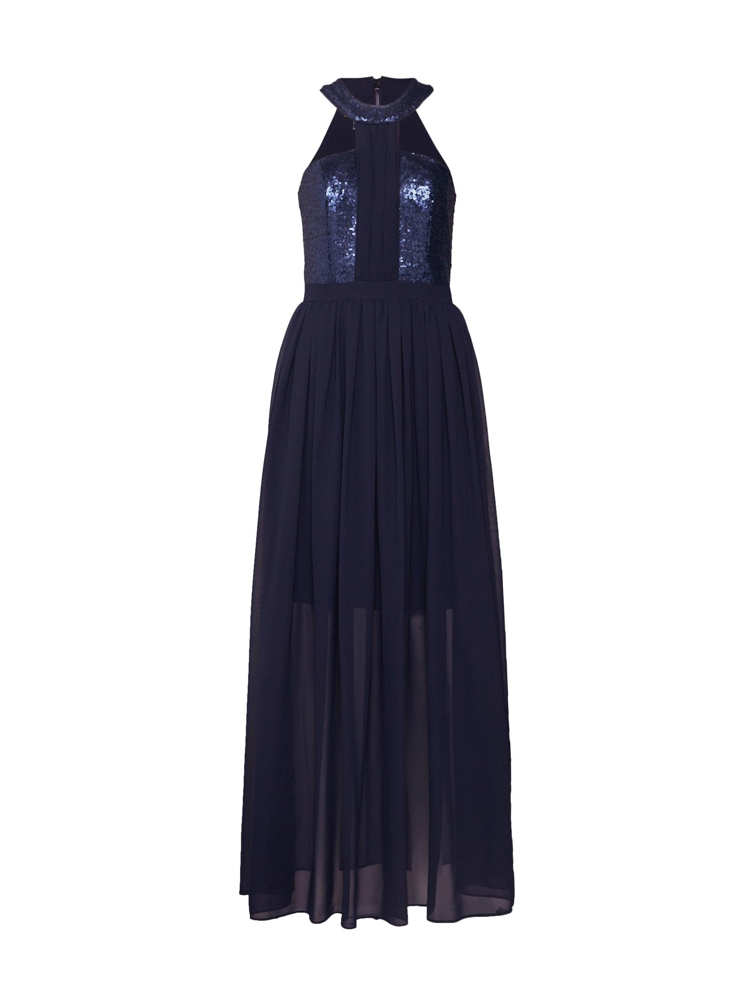 Společenské šaty noční modrá APART