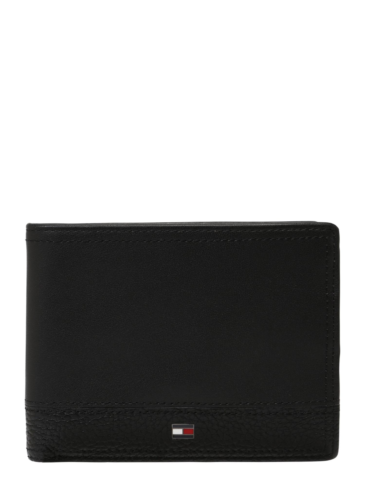 Peněženka TH Business Extra CC & Coin černá TOMMY HILFIGER