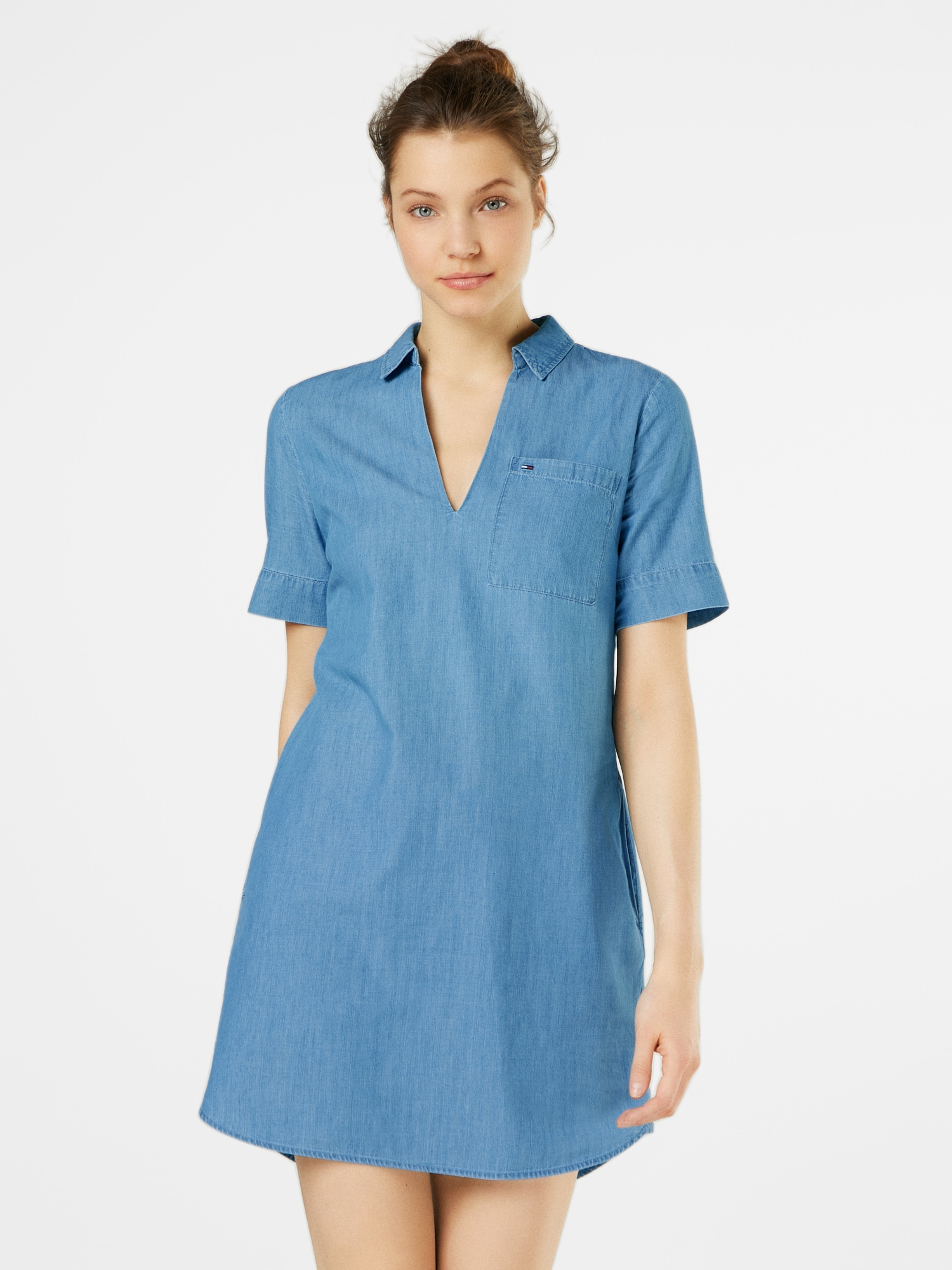 Blousejurk 'INDIGO SHIRT DRESS'